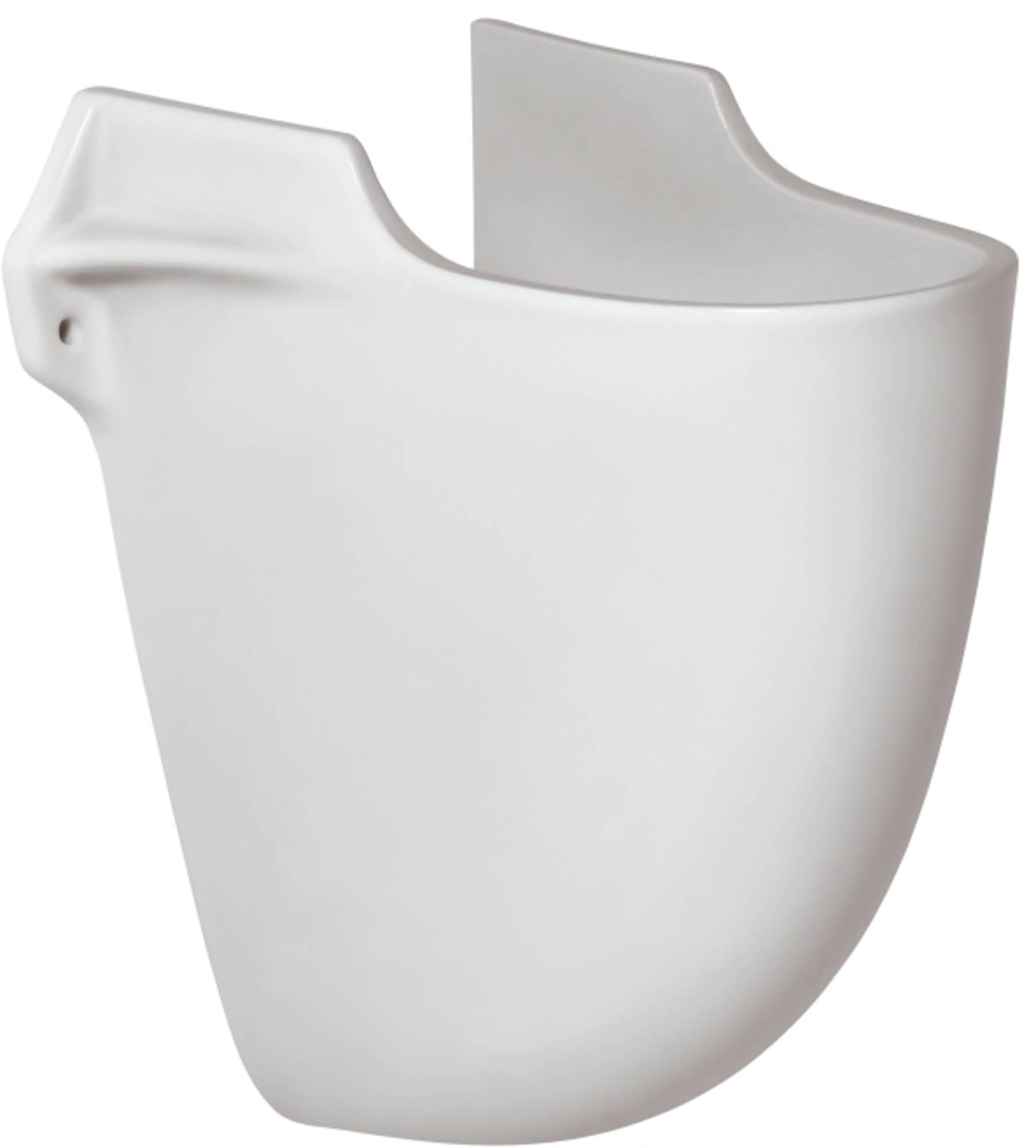 IDEAL STANDARD EUROVIT sifonkap voor ronde wastafel WIT (V921001)