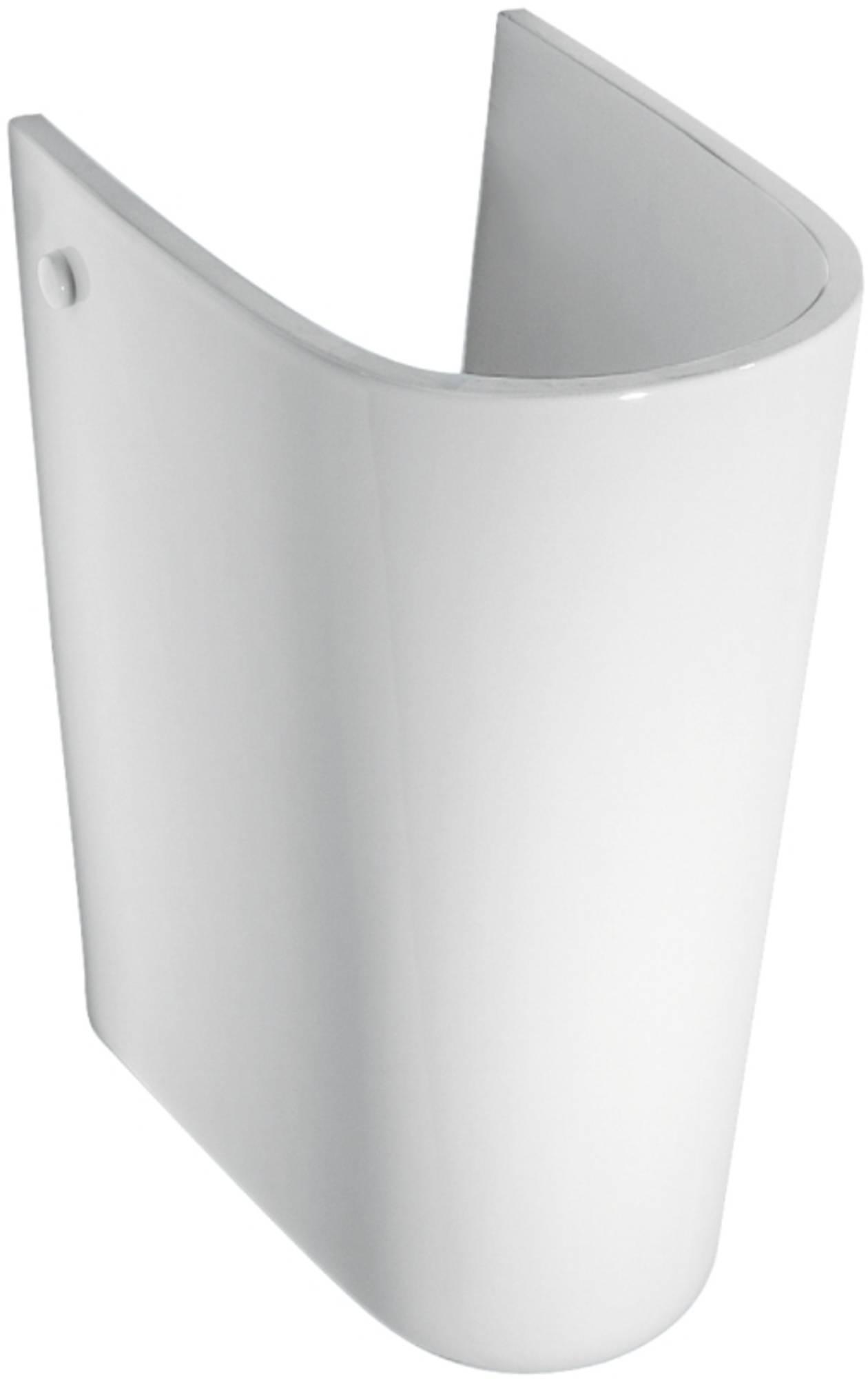 IDEAL STANDARD EUROVIT sifonkap voor rechthoekige wastafel WIT (V921101)