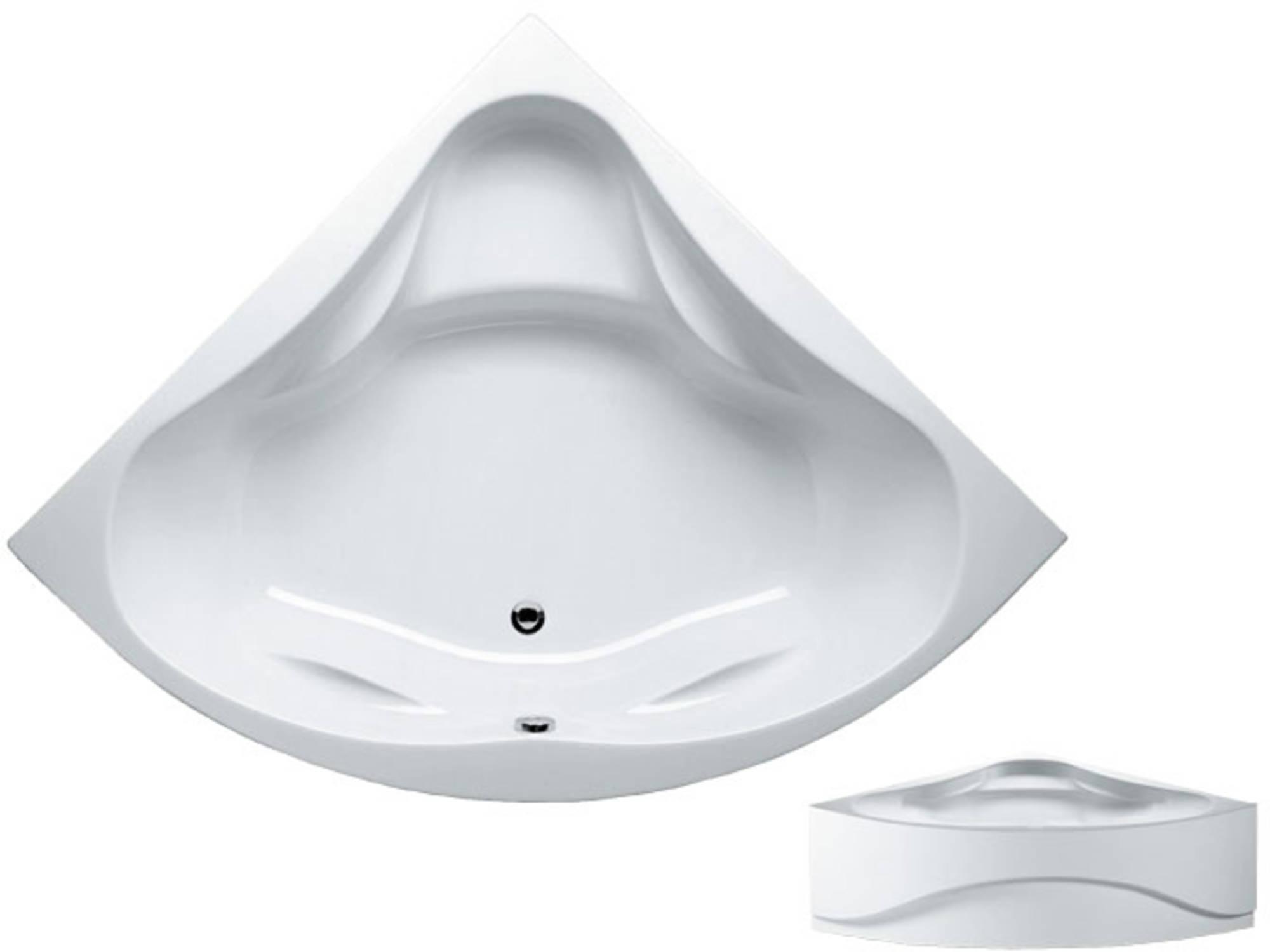 Riho Neo acryl bad, 150x150x49 zonder pootset, wit