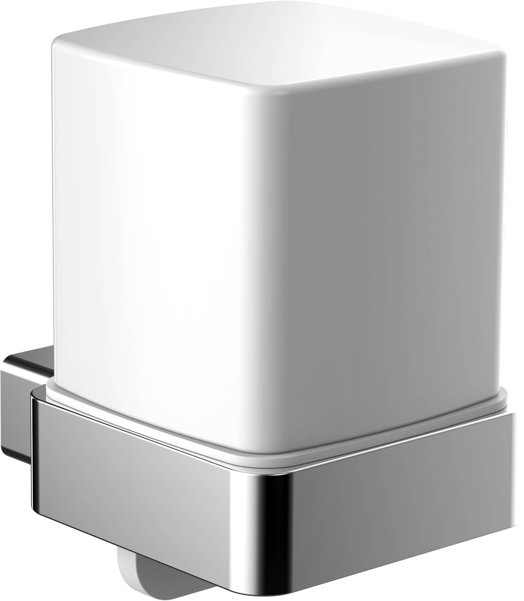 Emco Loft zeepdispenser 130 ml. bediening aan onderkant chroom