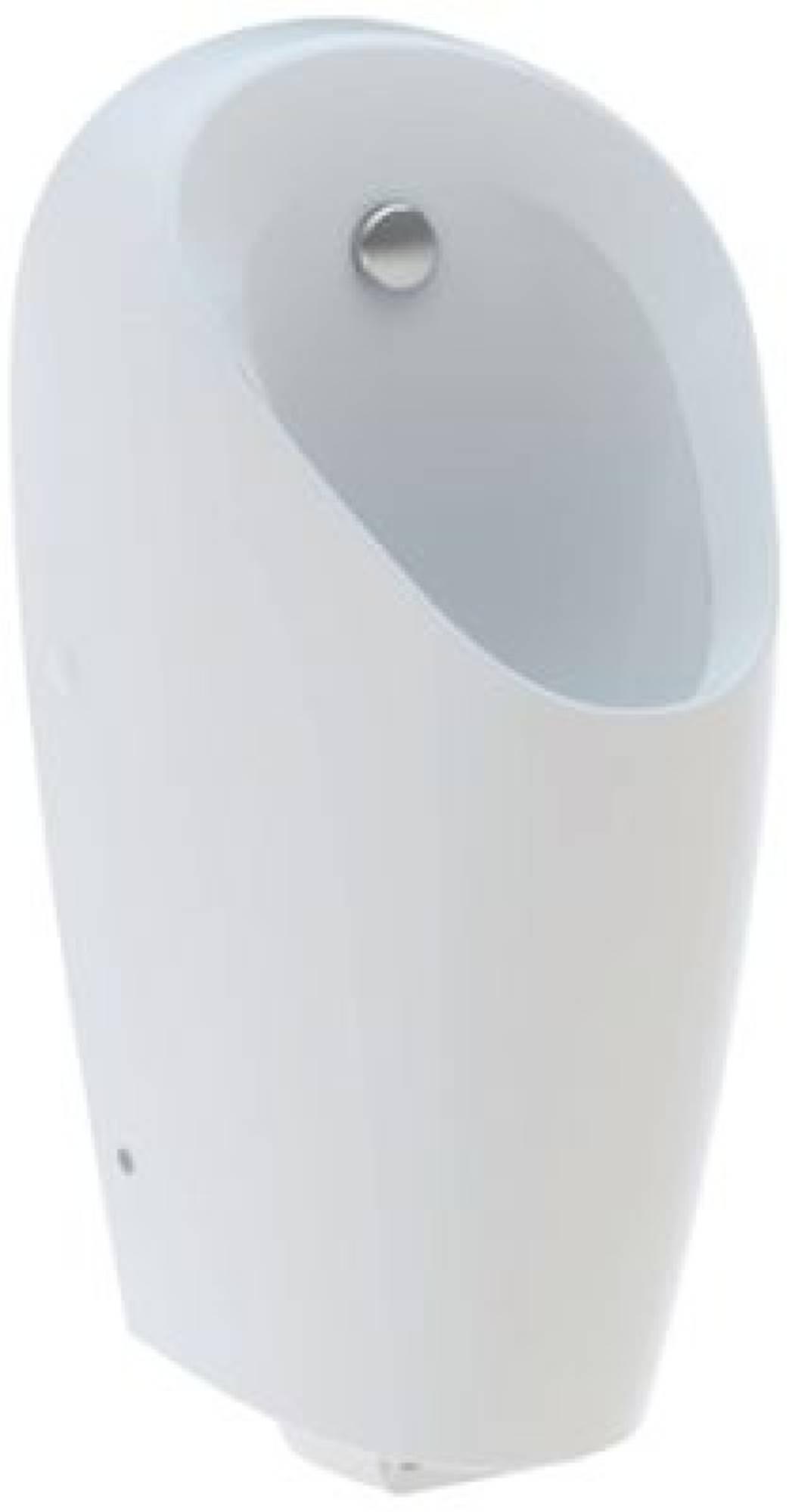 Geberit Selva urinoir achter inlaat wit