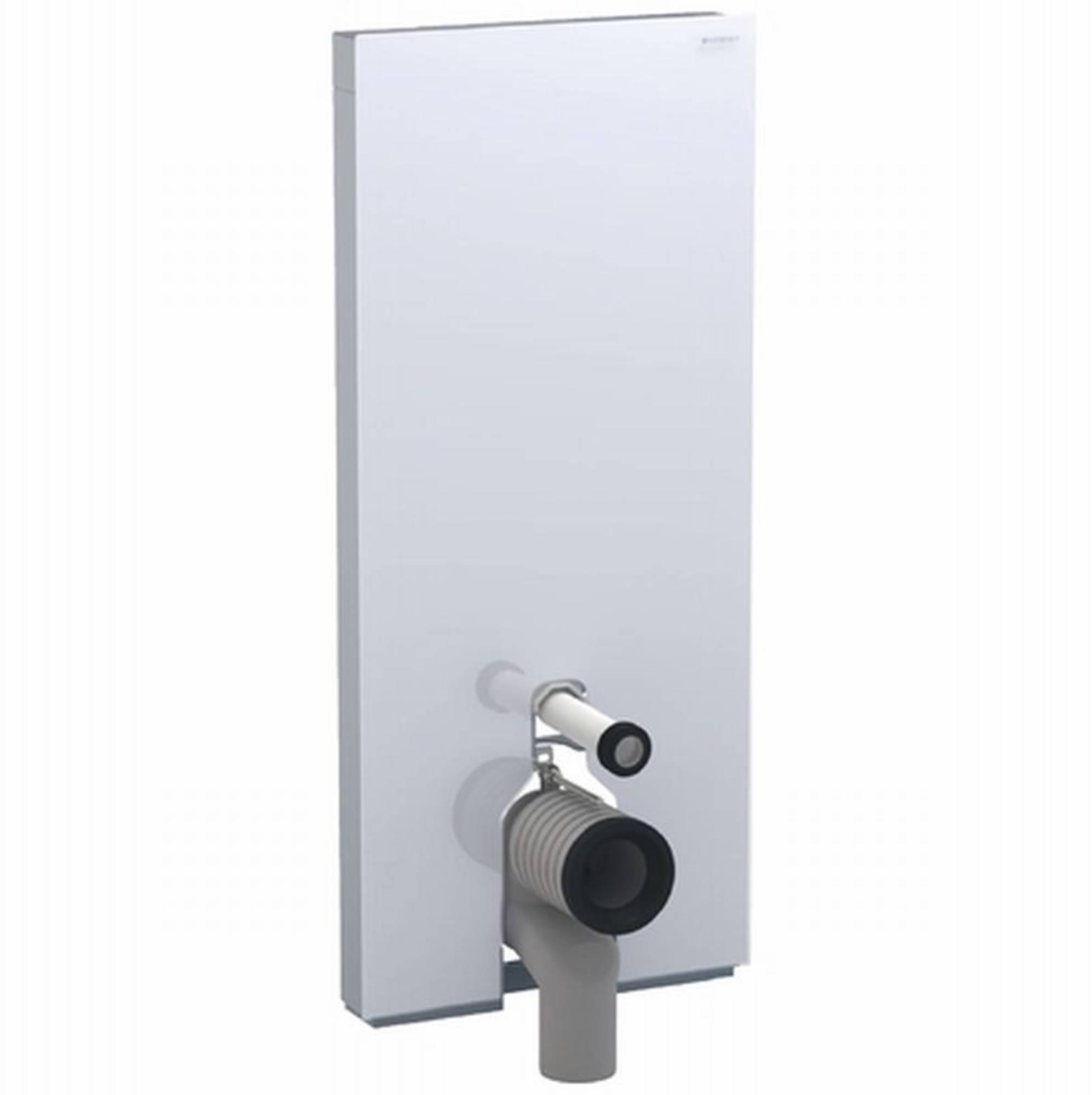 Geberit Monolith plus module voor staand closet h114 glas umbra aluminium