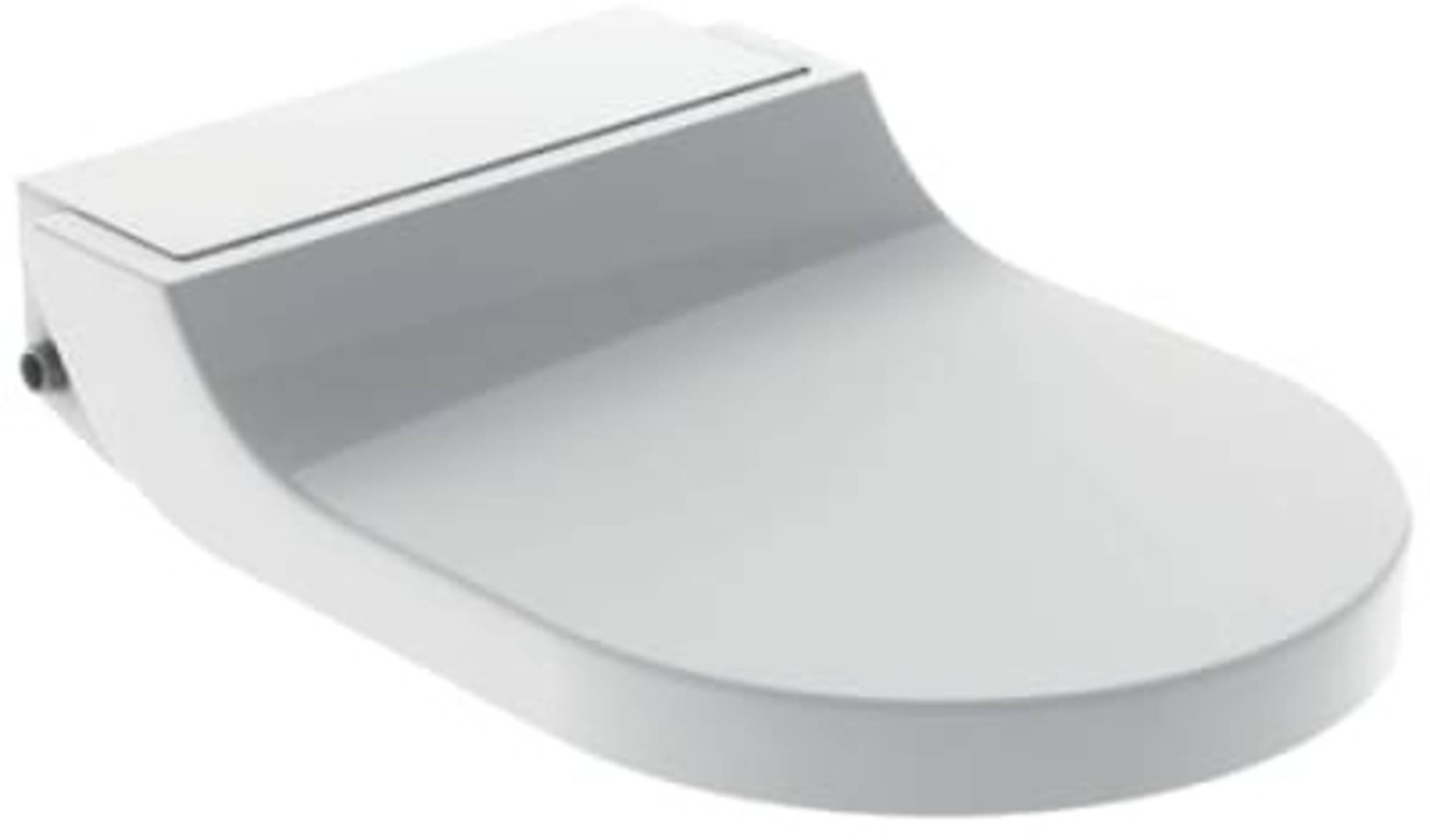 GEB closetzitt m-onderdouche AquaClean Tuma, kunstst, wit, bed