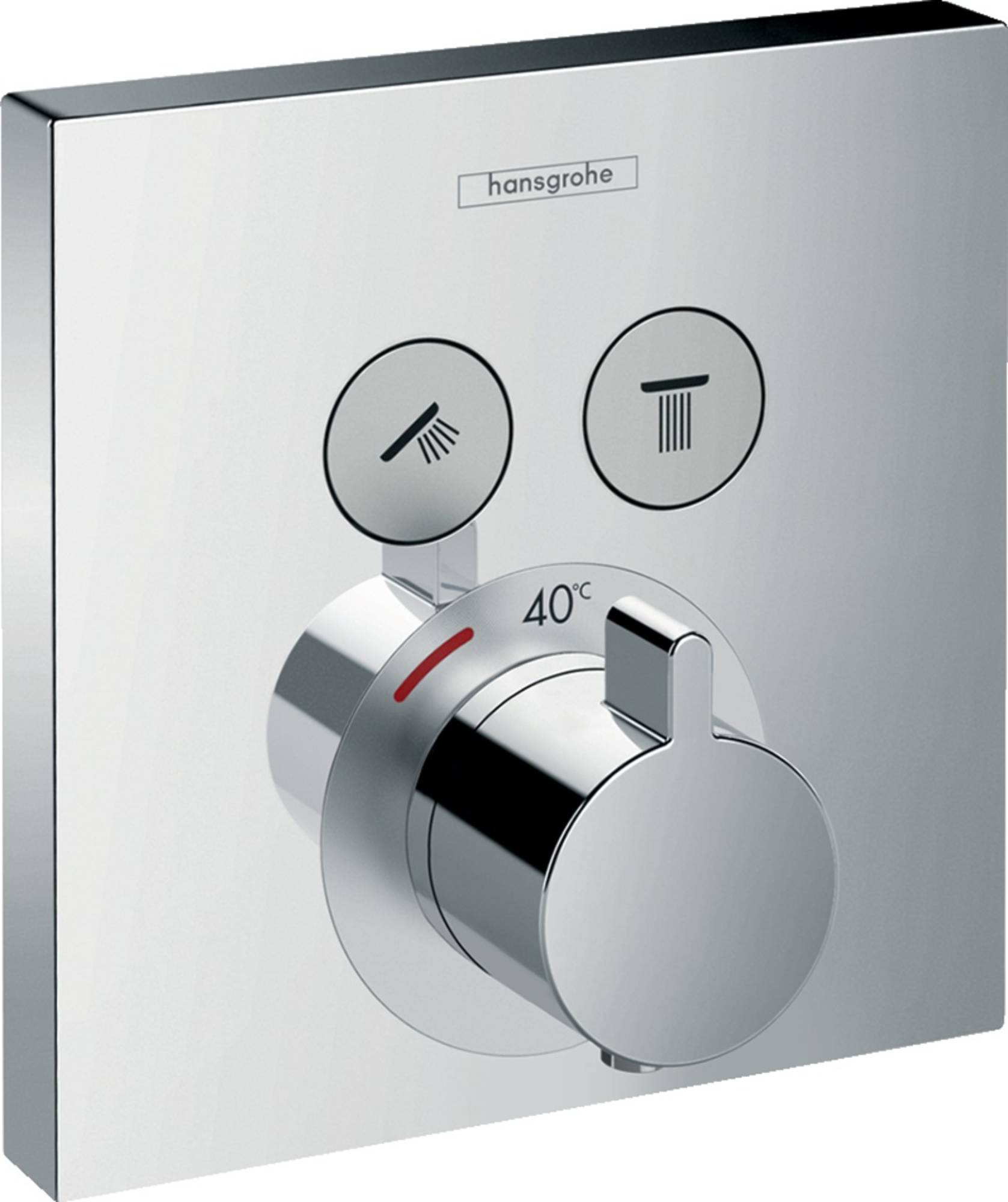 Hansgrohe ShowerSelect afbouwdeel inbouwdeel ibox bad-douchethermostaat chroom 15763000