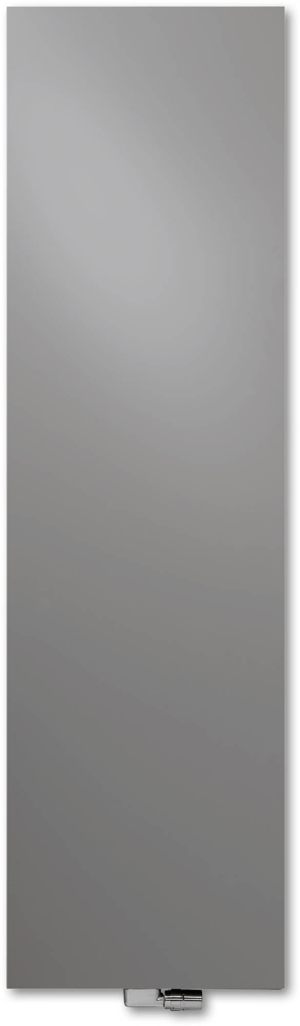 Vasco Niva Verticaal N1L1 Designradiator 202x52 cm Grijs