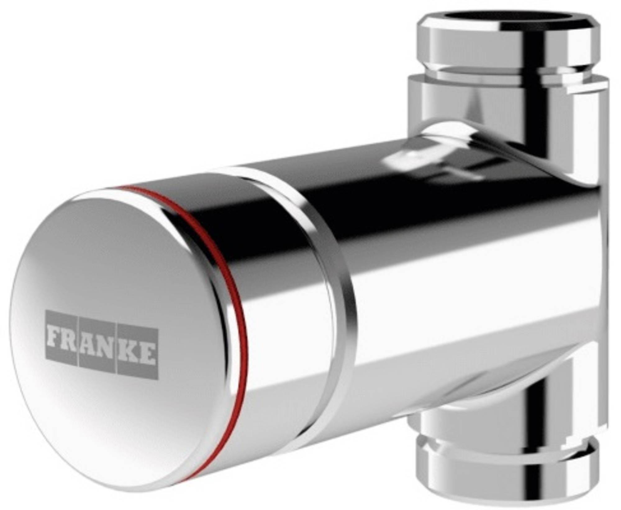 Franke F3SV2002 Zelfsluitende Wandkraan Chroom