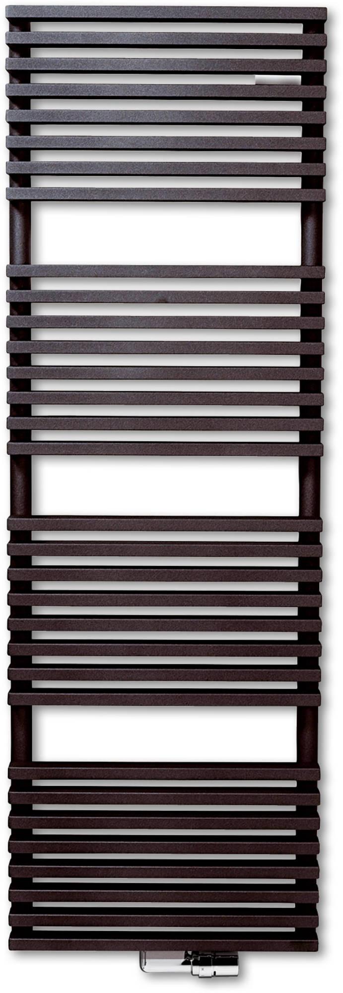Vasco Zana Bad ZBD Designradiator 150,4x60 cm Platina Grijs