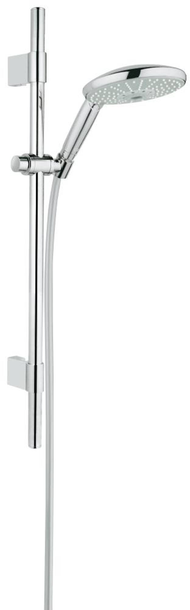 Grohe Rainshower glijstangcombinatie 600mm chroom 28768001