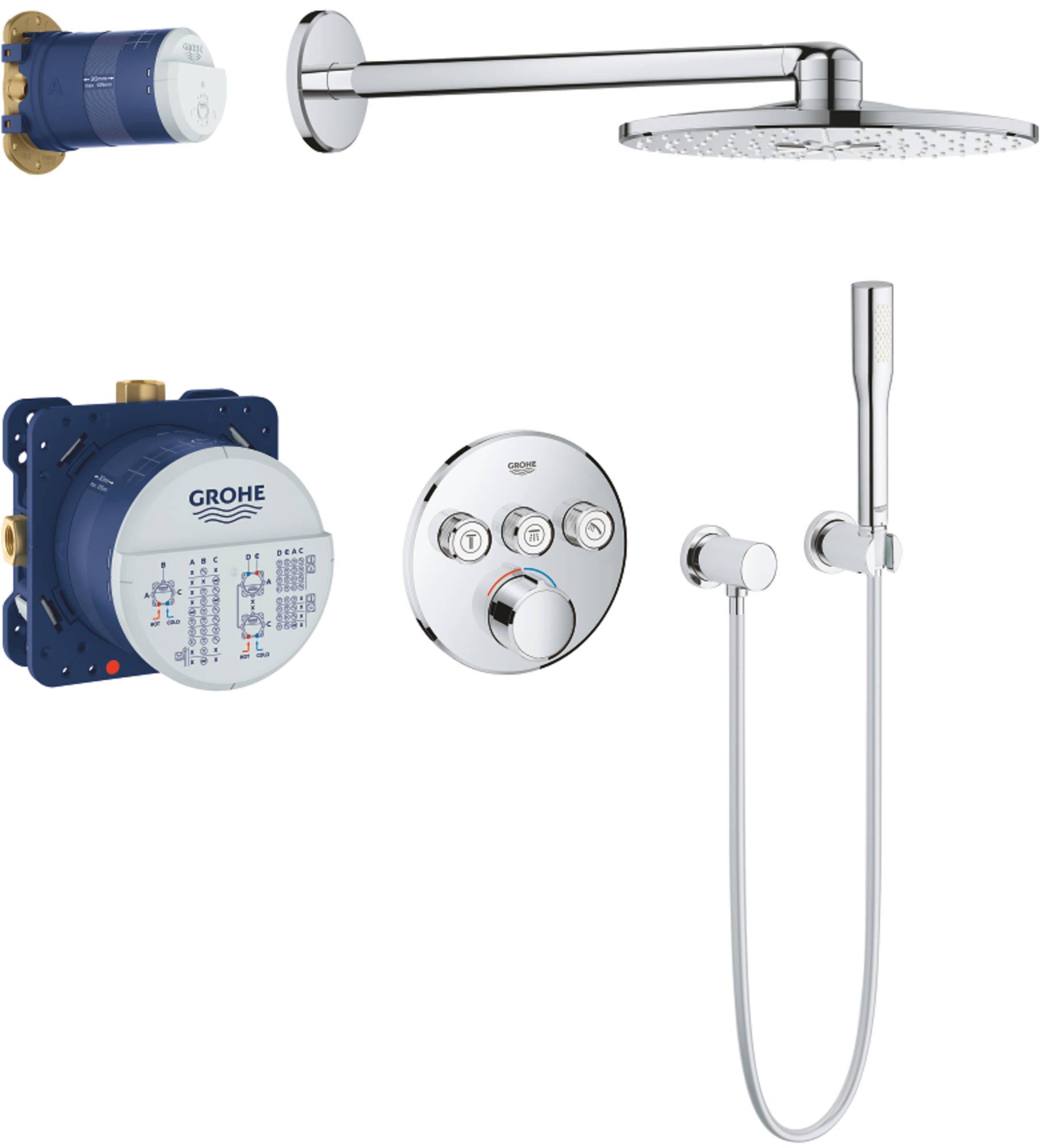 Grohe Smartcontrol Perfect showerset Chroom