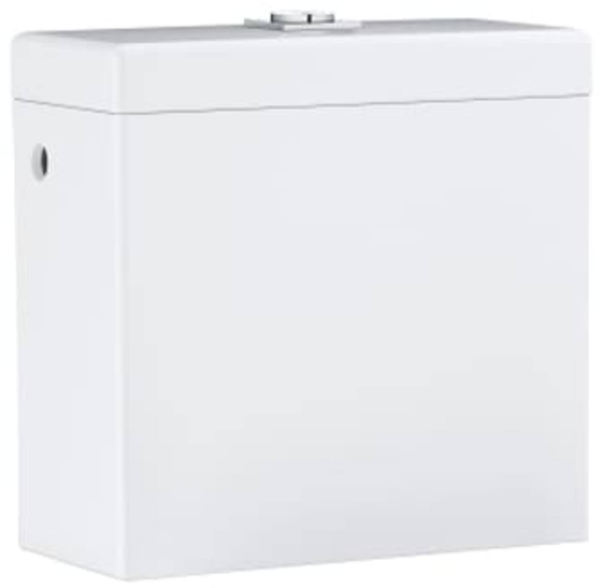Productafbeelding van Grohe Cube Duoblokreservoir Opbouw met zijaansluiting 37x17x36,5 cm Keramiek Wit
