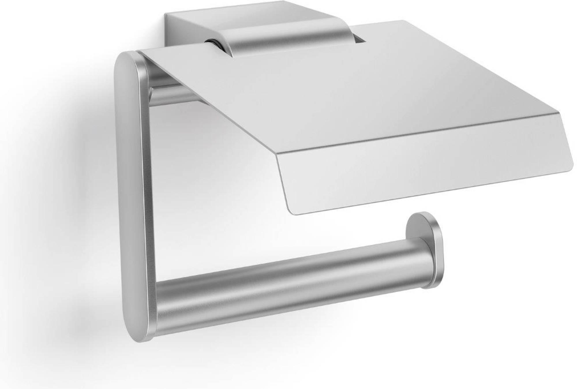 ZACK ATORE Toiletrolhouder met klep Mat