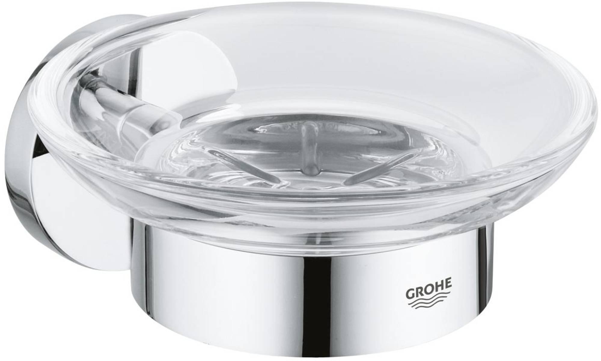 Grohe Essentials zeephouder met losse inzet Chroom