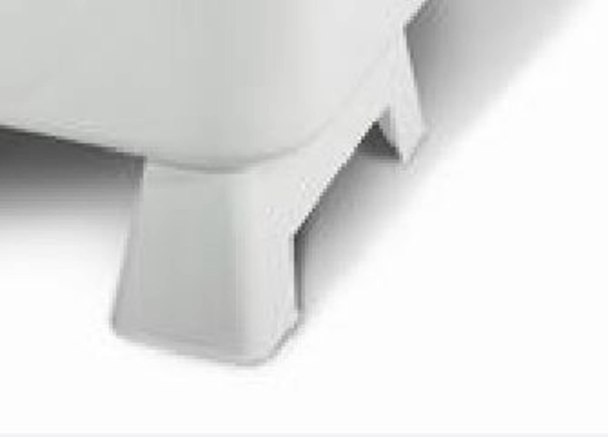 Productafbeelding van Saqu Potenset voor zitbad 103x65x52 cm Wit