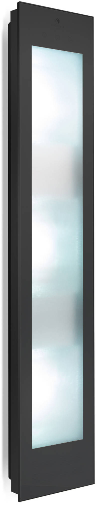 Productafbeelding van Sunshower Combi Black UV en Infrarood Opbouwapparaat 29x144x22.8 cm Aluminium Mat Zwart