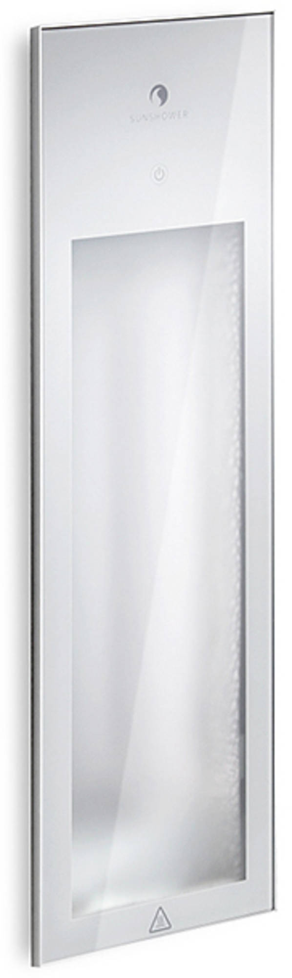 Productafbeelding van Sunshower Pure 2.0 White Infrarood Inbouwapparaat 19.9x61.9x10 cm Half Body Pure White