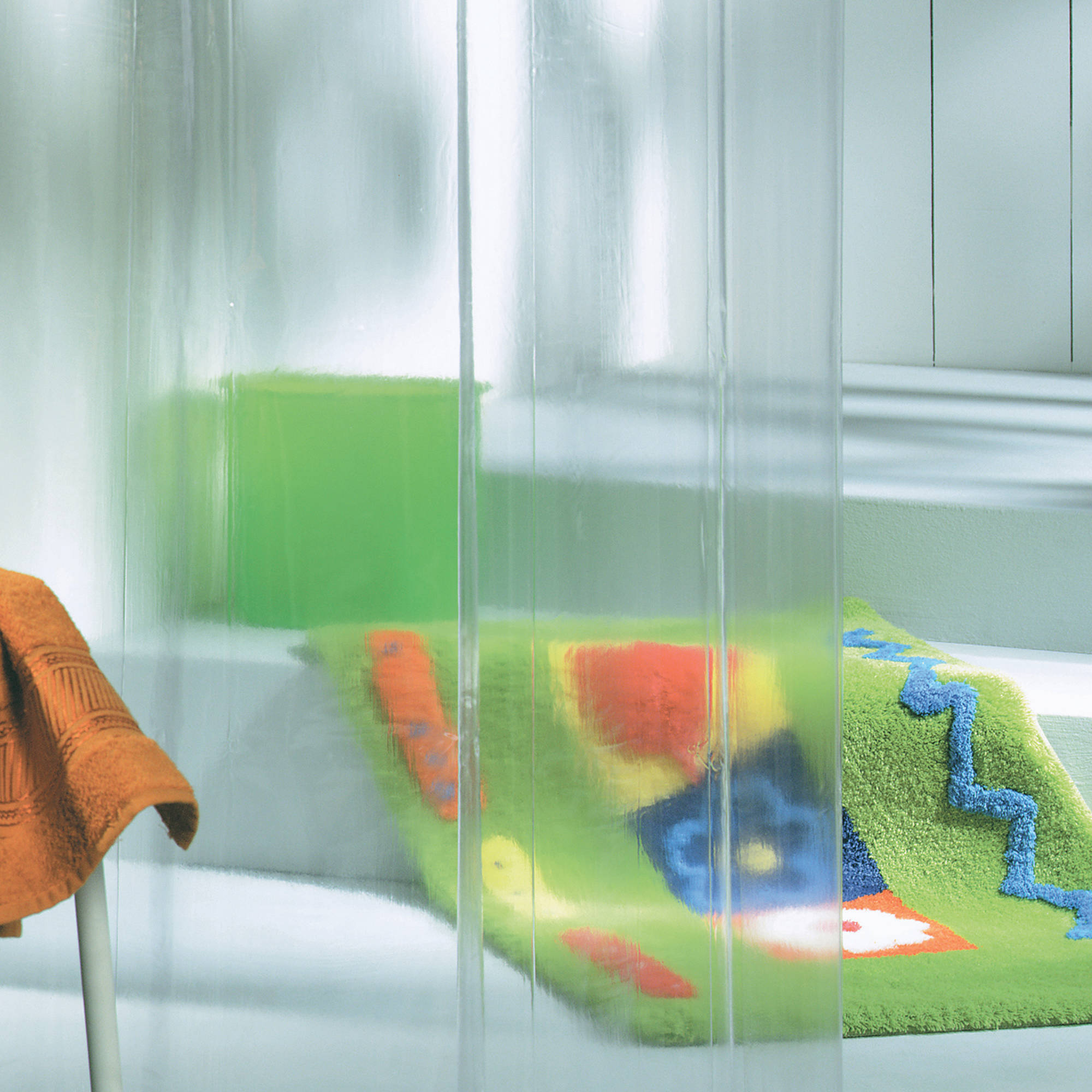 Sealskin Clear douchegordijn 180x200cm vinyl transparant