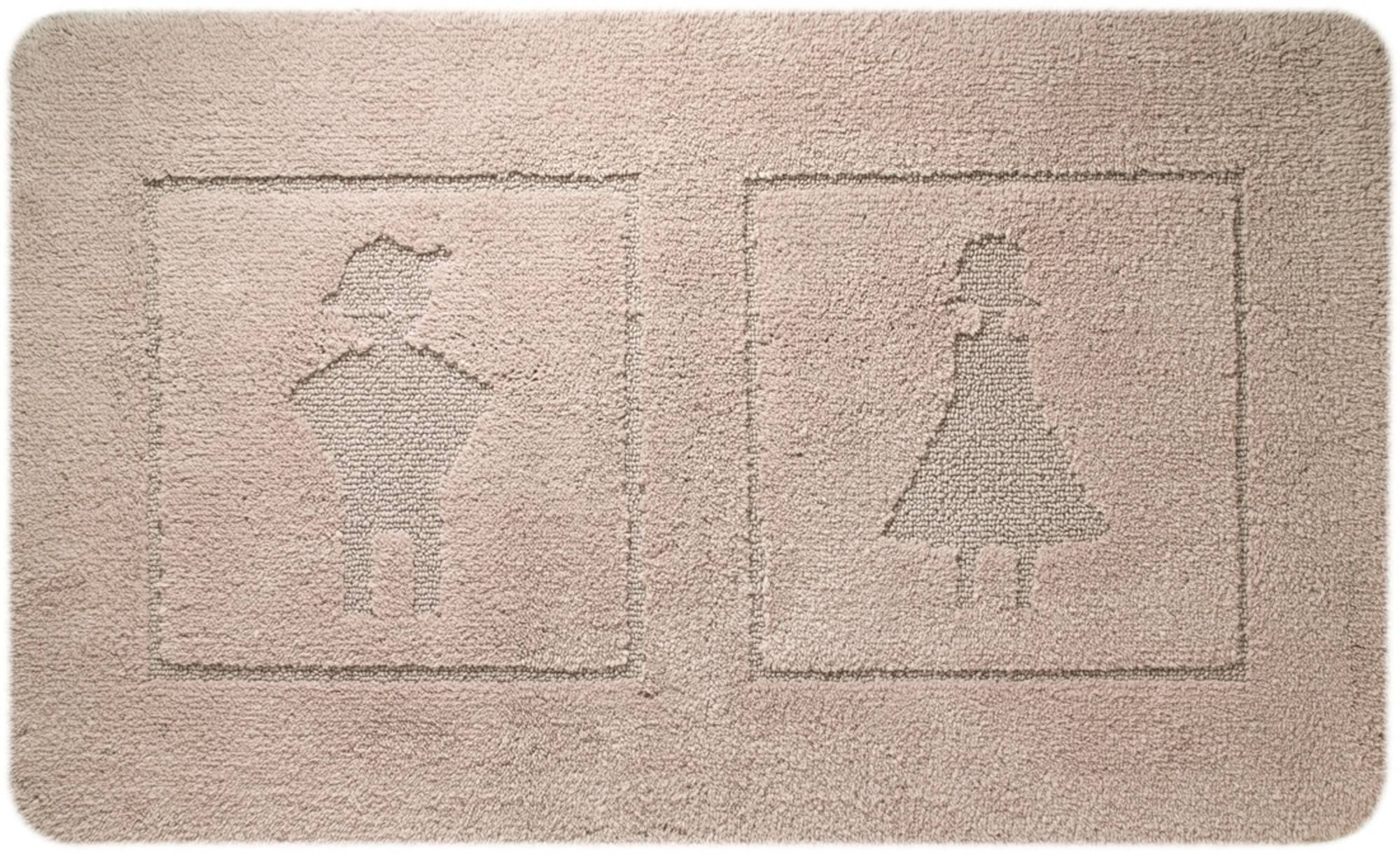 Sealskin Man&Woman Badmat