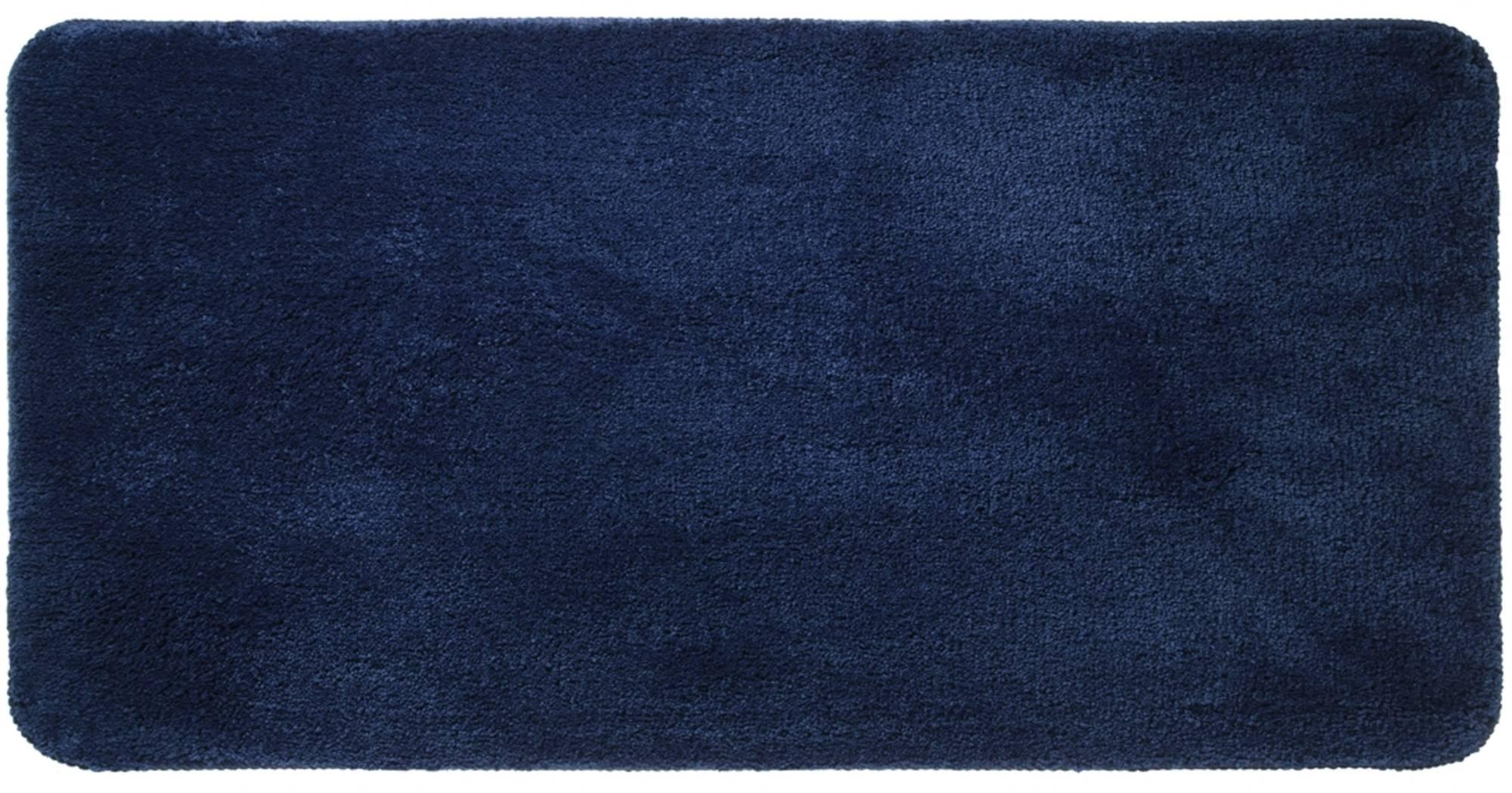 Sealskin Angora badmat 140x70cm polyester Blauw