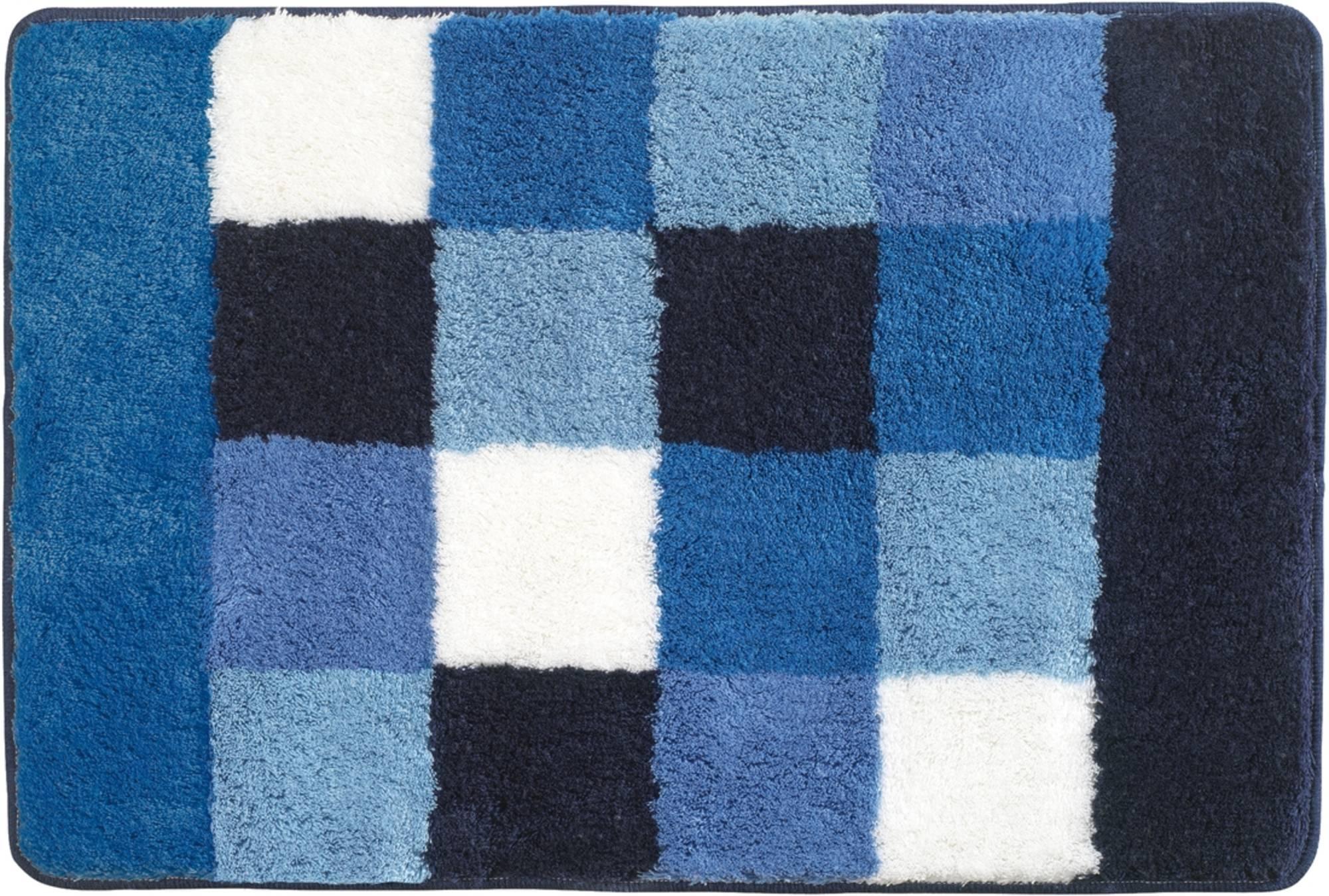 Sealskin rosalyn badmat 60x90cm acryl Blauw