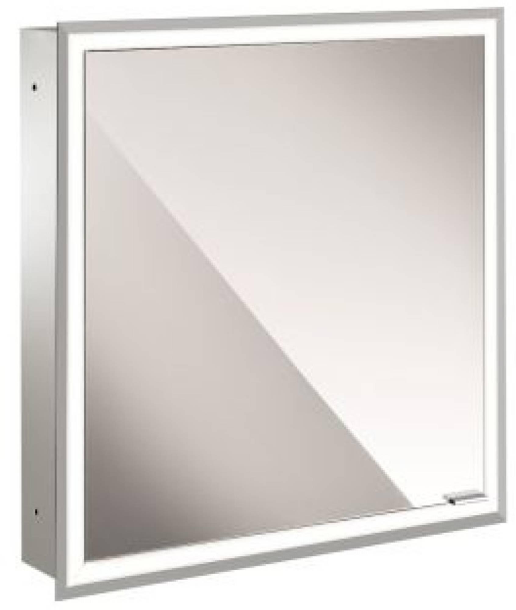 Emco Asis Prime inbouw spiegelkast 630x730 mm met led wit