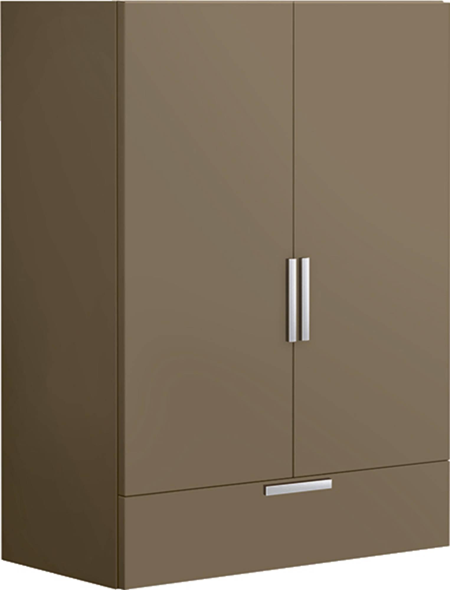 Villeroy & Boch Sentique wandkast m. 2 deuren en 1 lade 95.7x70x37cm terramat