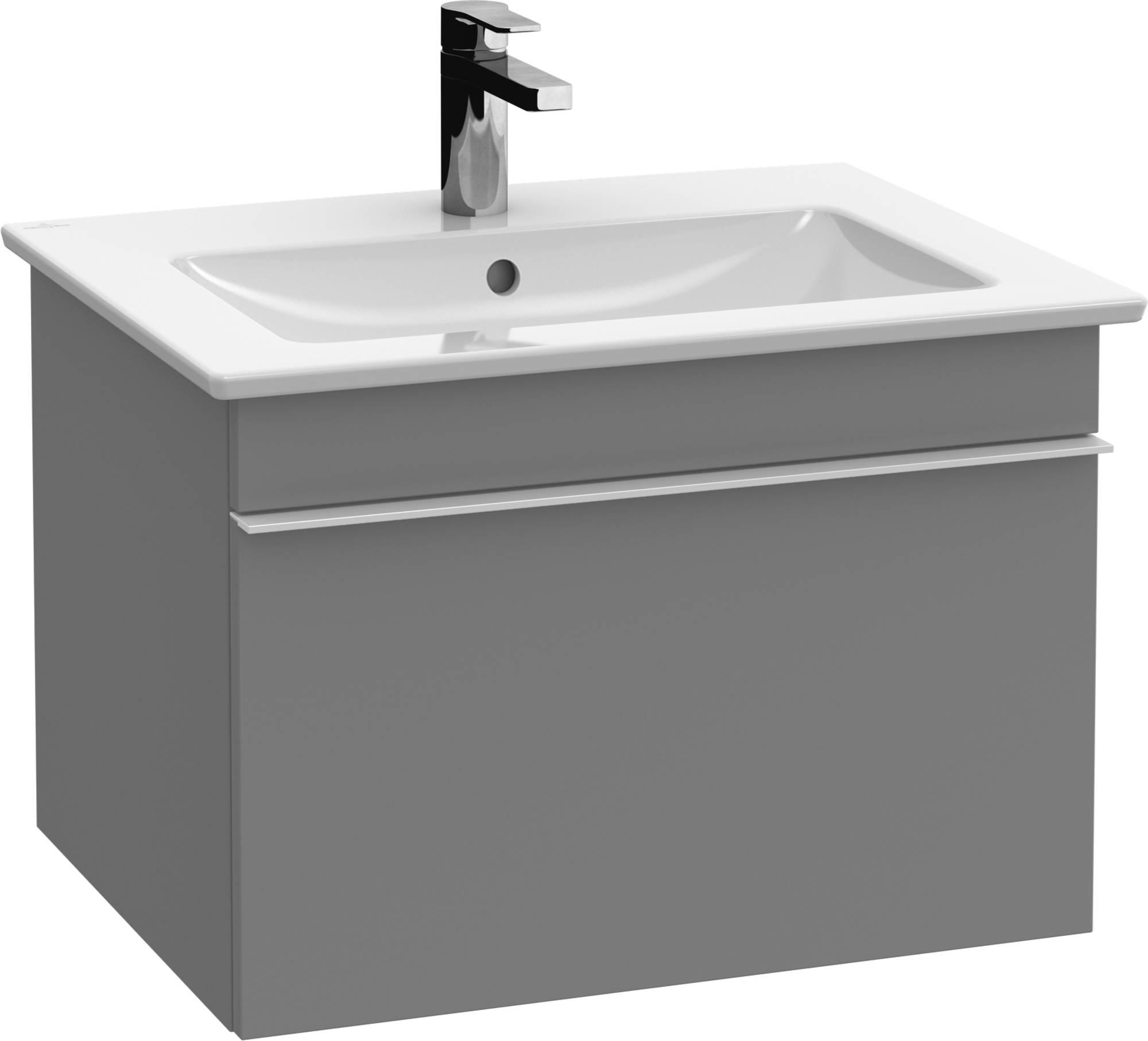 Villeroy&Boch Venticello Wastafelonderkast 60,3x50,2x42  cm  Glossy Grey