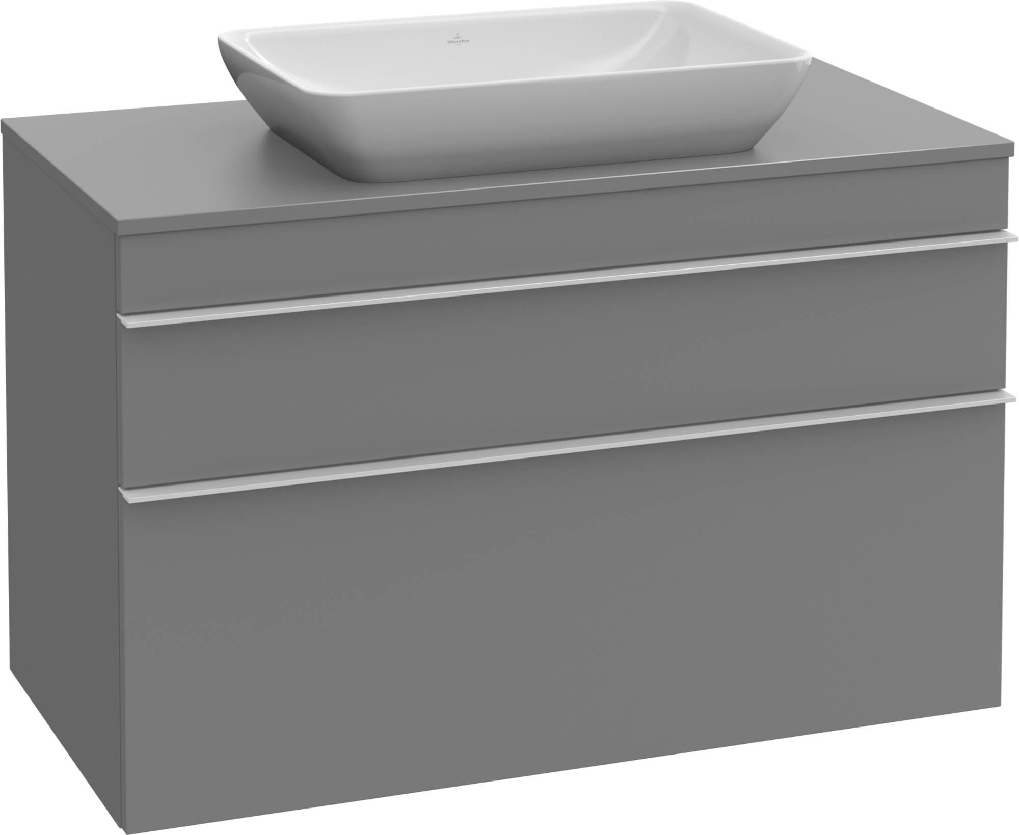 Villeroy&Boch Venticello Wastafelonderkast 75,7x50,2x60,6  cm Terra Matt