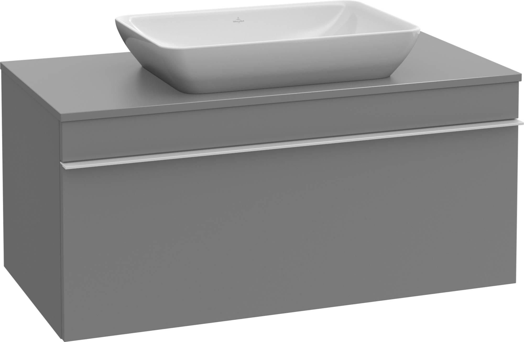 Villeroy&Boch Venticello Wastafelonderkast 75,7x50,2x43,6  cm Eiken Grafiet