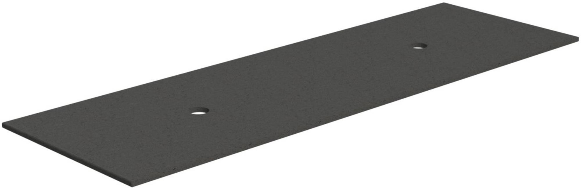 Thebalux Afdekblad HPL 201x46x3,8 cm Nebraska Eiken