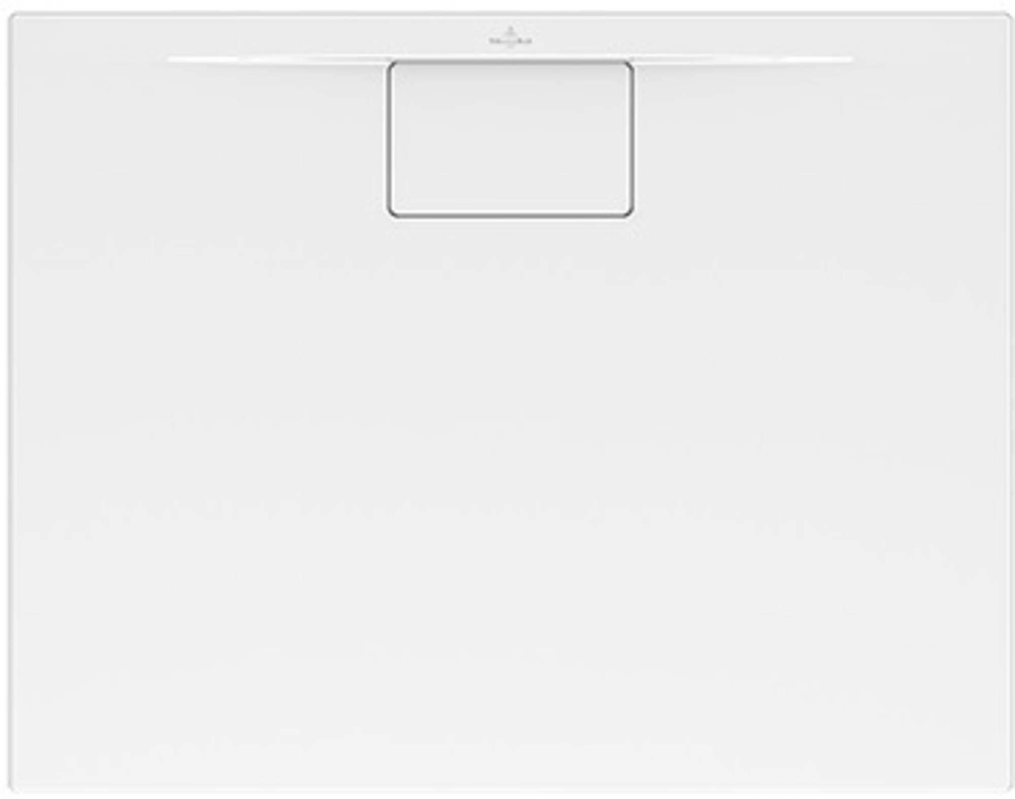 Villeroy & boch Architectura metal rim douchebak 90x80x4.8 cm, wit