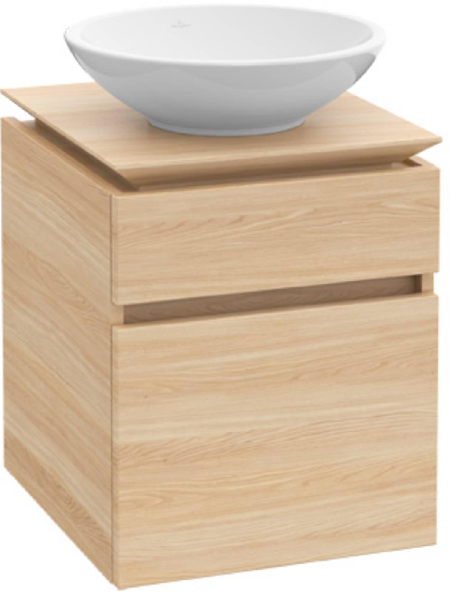 Villeroy&Boch Legato Wastafelonderkast 50x44x59 cm Santana Oak