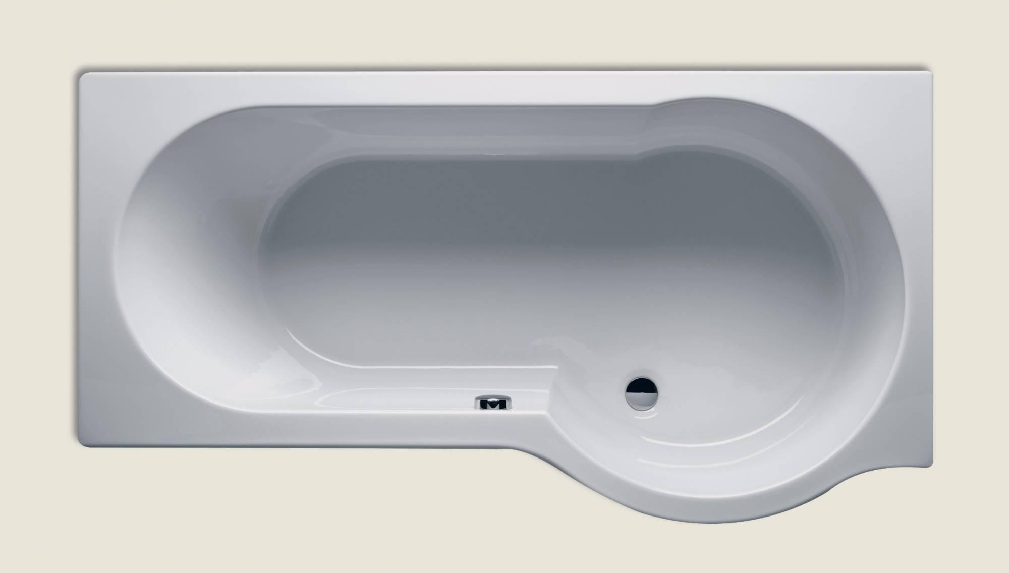 Productafbeelding van Ligbad Riho Dorado 170 x 75/90 cm LINKS wit