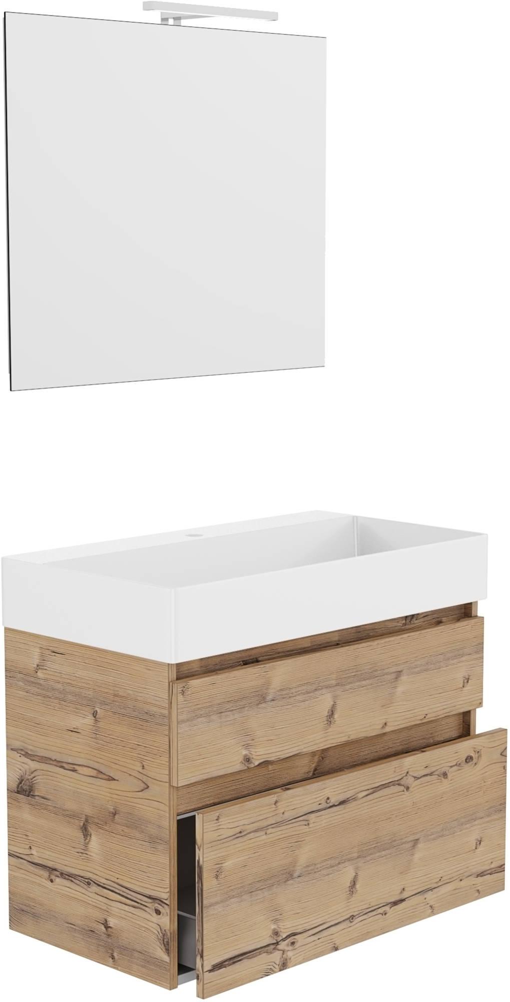 Primabad Blend Badkamermeubelset 80x45 cm  Wit