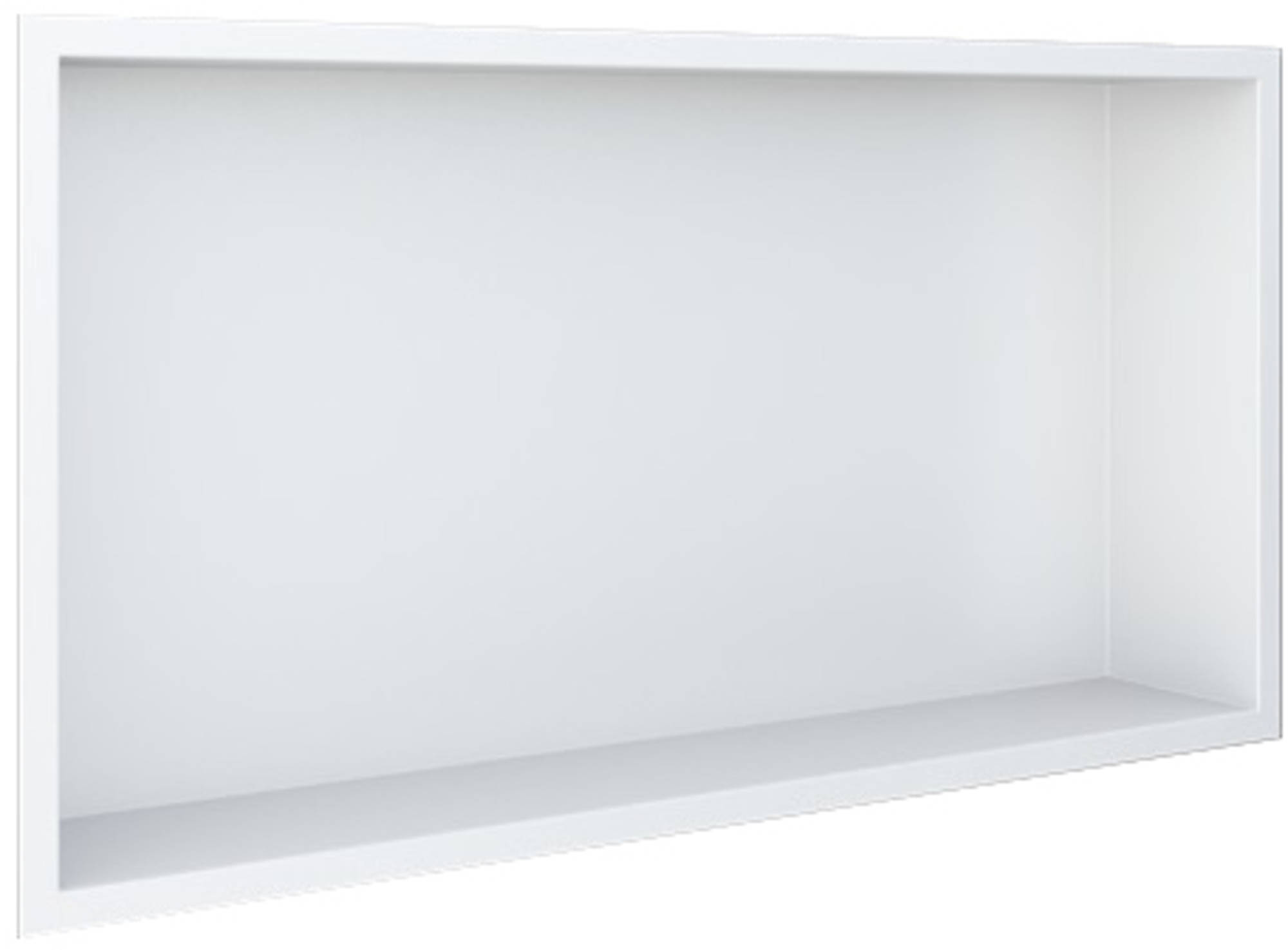 Looox BoX Inbouwnis 62,3x7,5x32,3 cm Wit