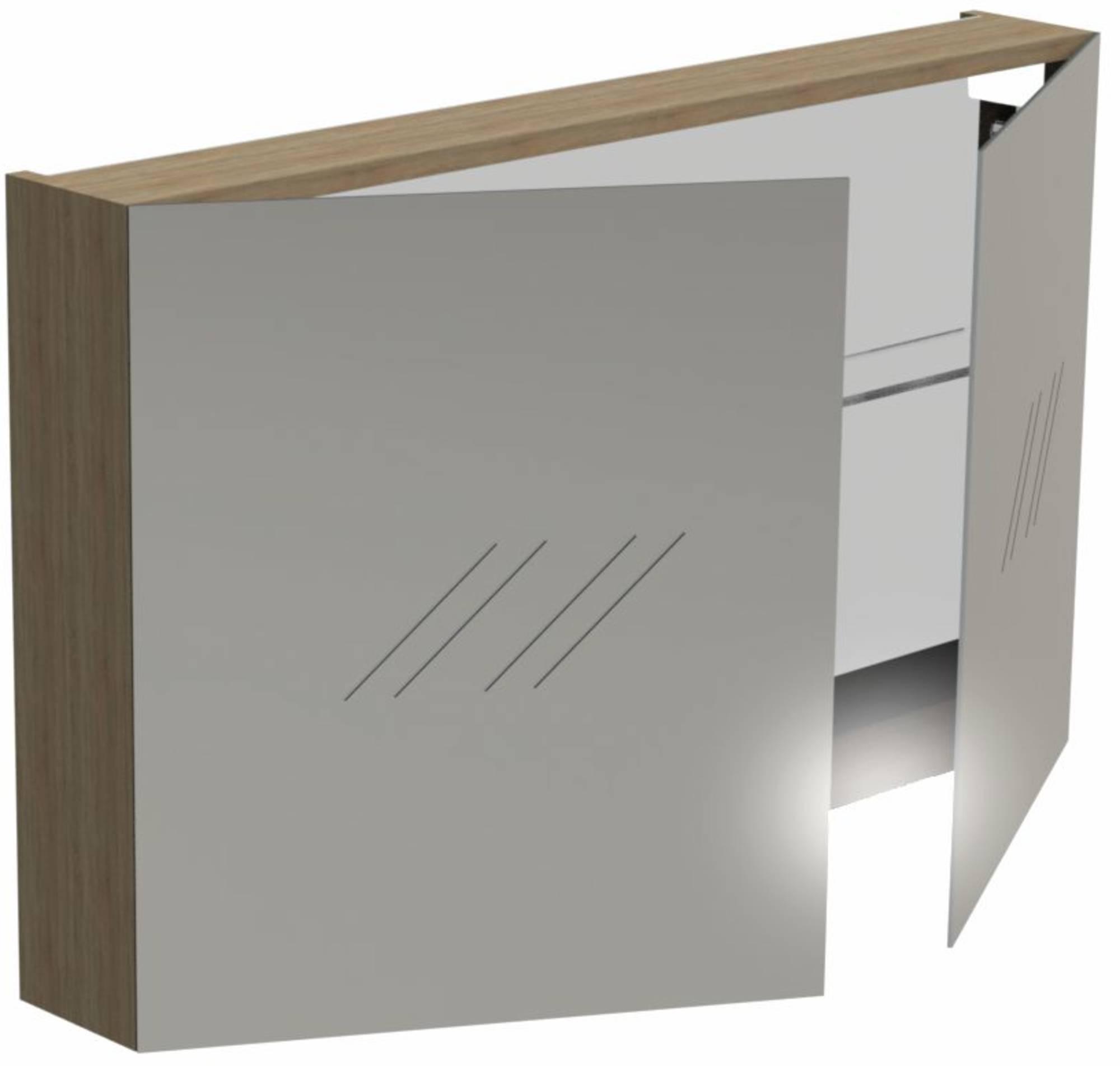 Thebalux Basic Wastafelbovenkast 100x13,5x60 cm Cape Elm