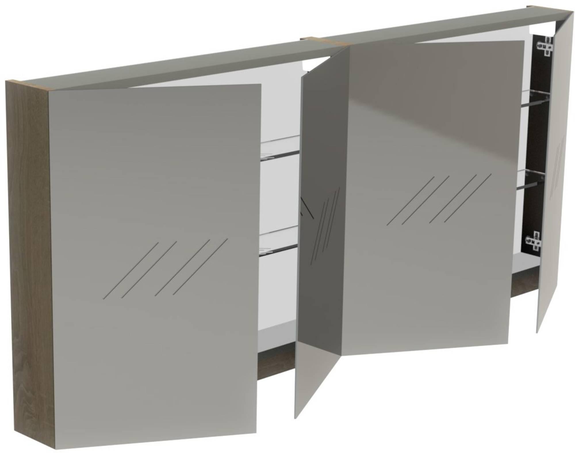 Thebalux Basic Spiegelkast 70x160x13,5 cm Jackson Pine
