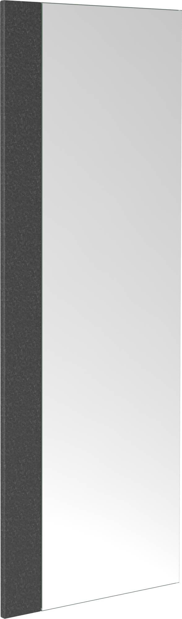 Badkamerspiegel Clou First met Gezoet Basalt Strip 30x2x80cm