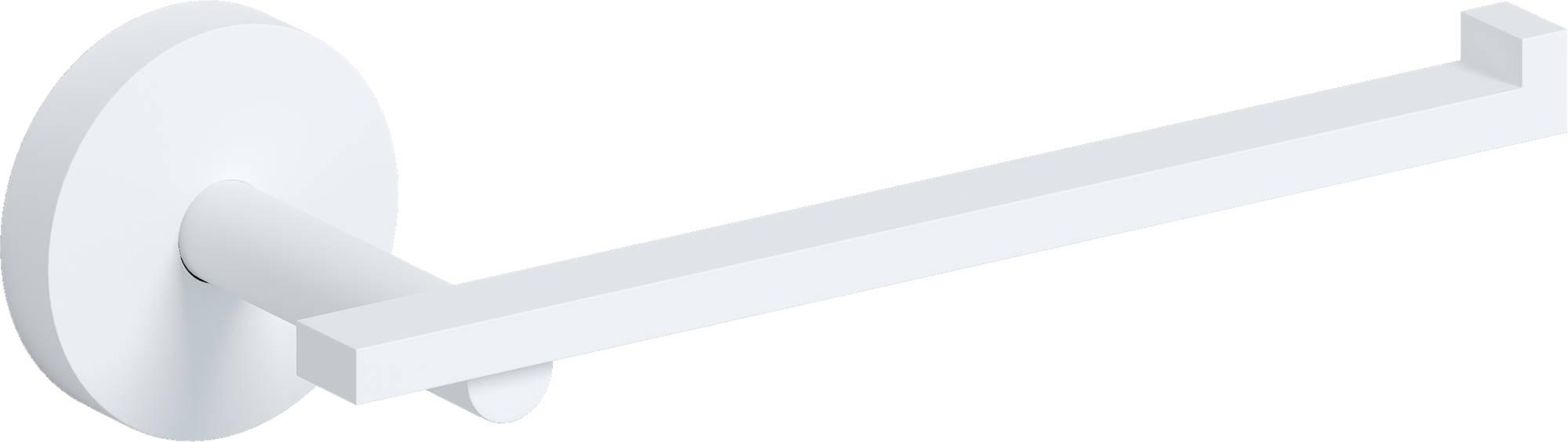 Toiletrolhouder Clou Flat Mat Wit 16.5x7.2x4.8cm