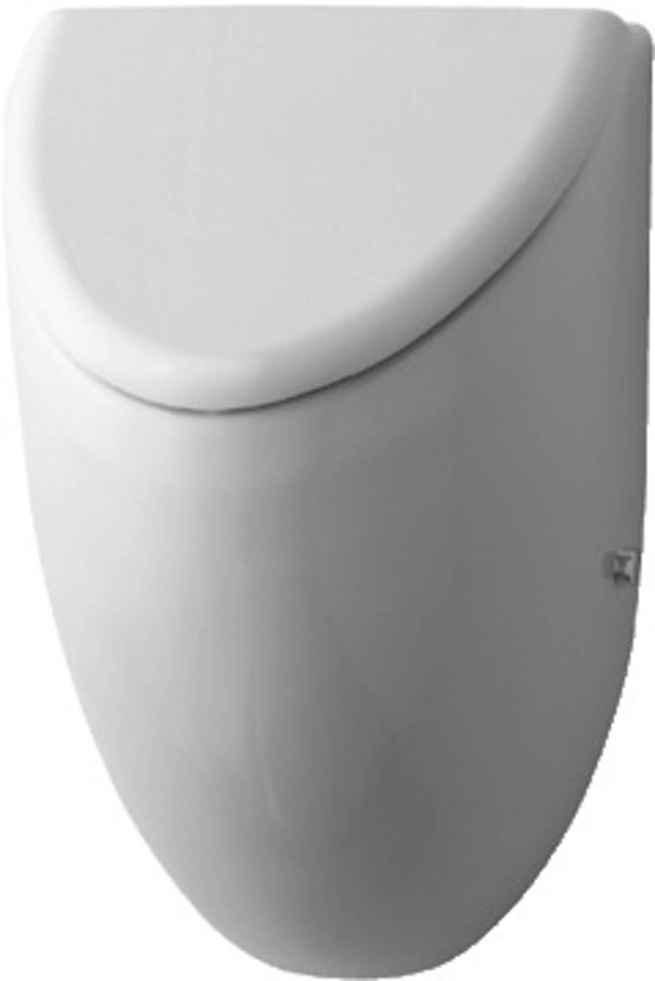Duravit Fizz urinoir afzuigend voor deksel m. bevestiging achterinlaat met vlieg wit