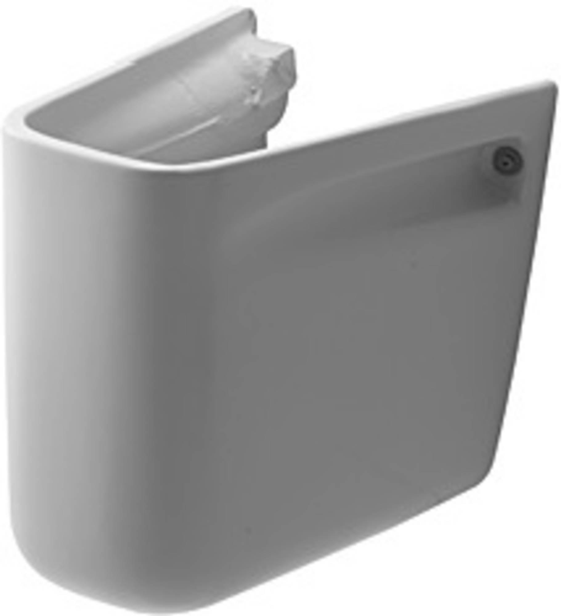 DURAVIT D-CODE sifonkap voor wastafel WIT (08571800002)