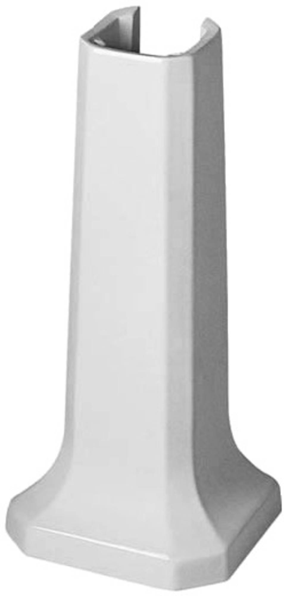 Duravit 1930 zuil voor wastafel 60cm wit