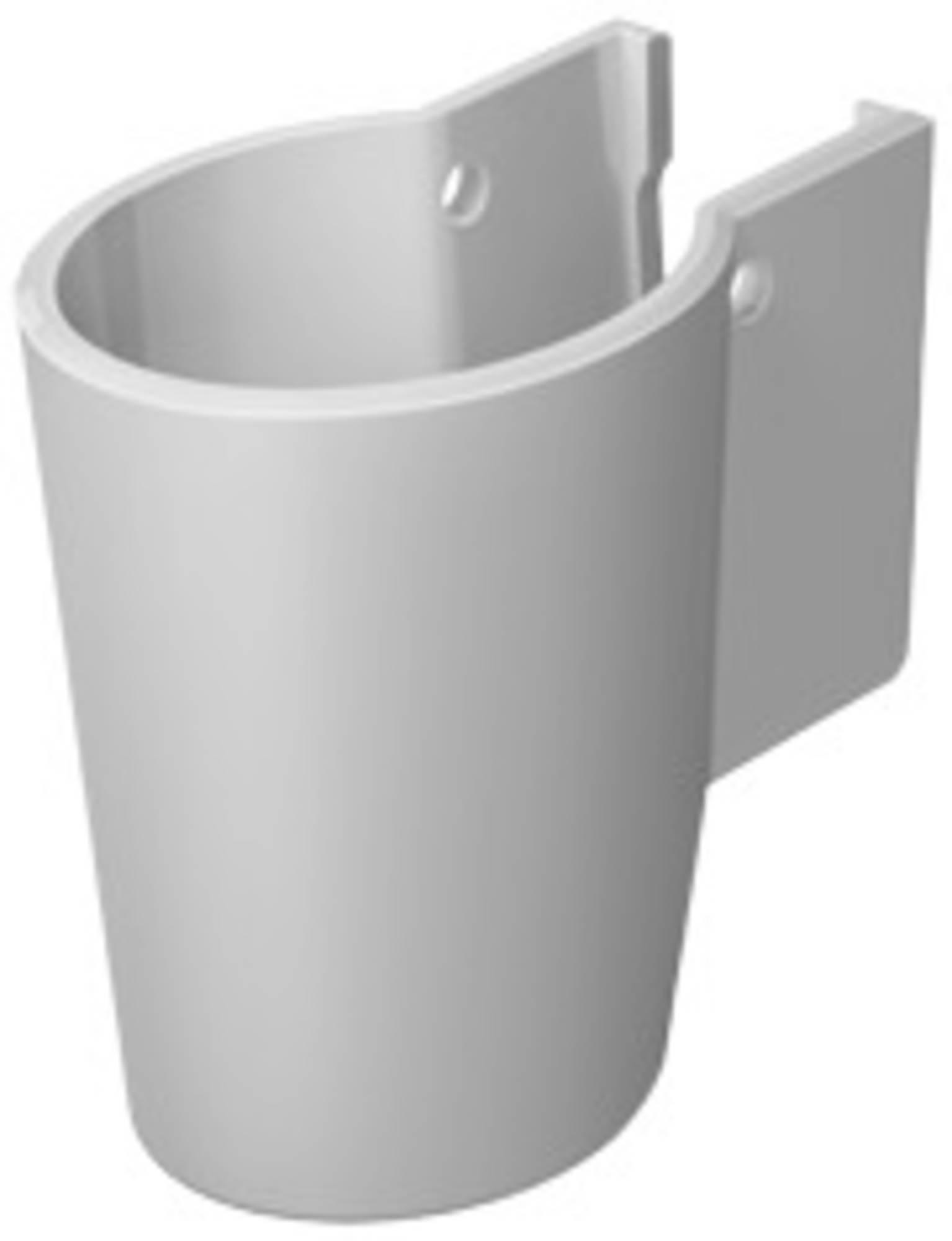 Duravit Starck 2 sifonkap voor wastafel m.WG wit