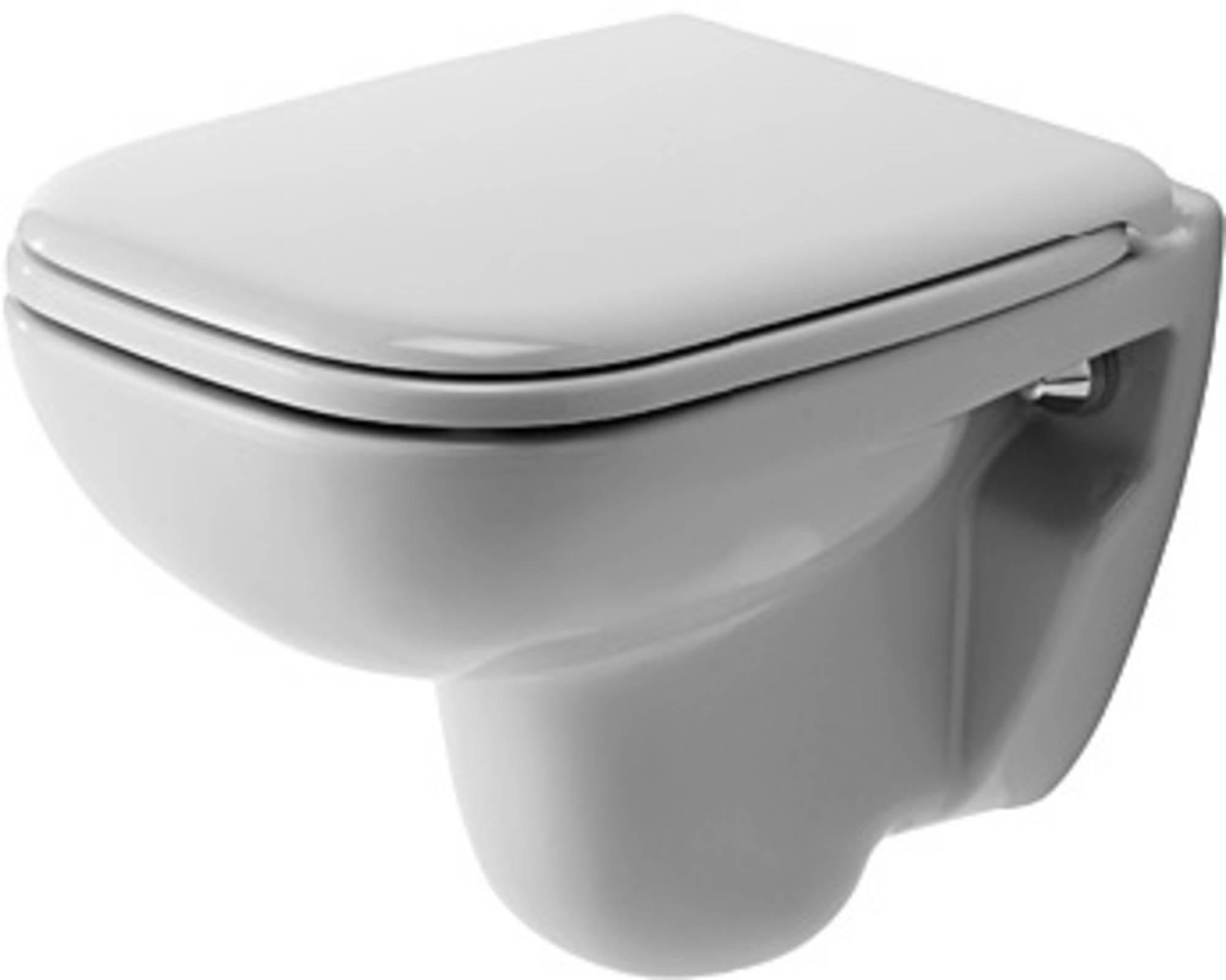 Duravit D-code wandcloset compact diepspoel, wit