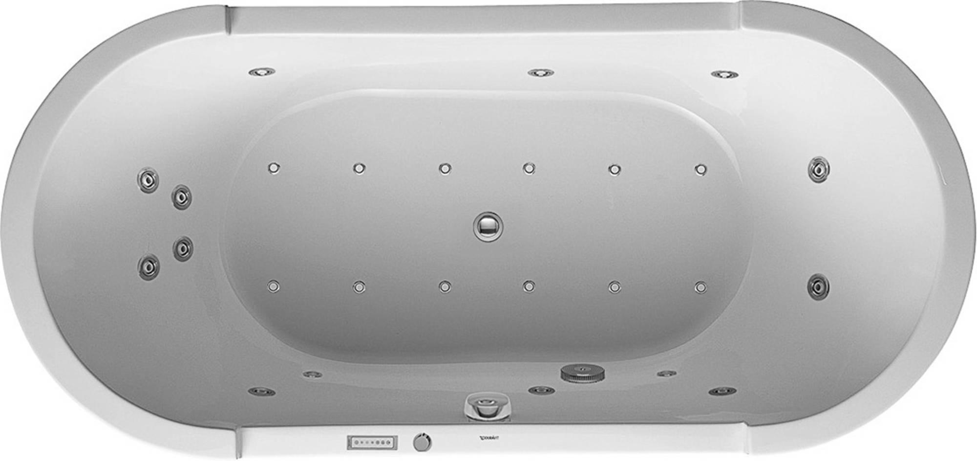 Duravit Starck Systeembad 225 liter Acryl 190x90 cm Wit