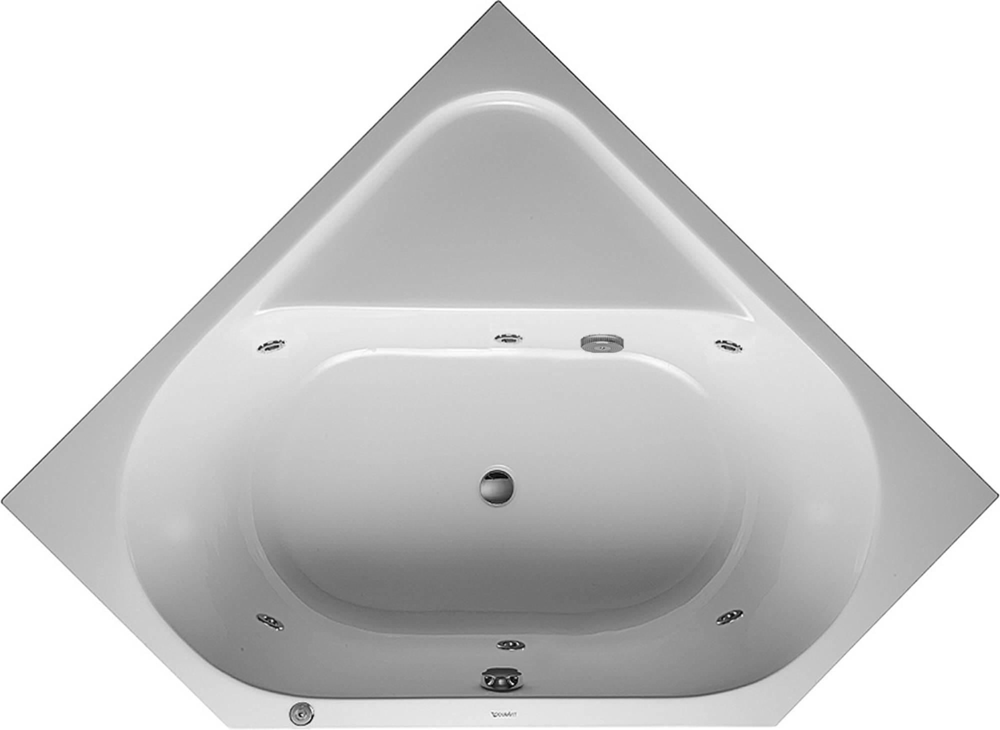 Productafbeelding van Duravit D-Code Systeembad 140 liter Acryl 140x140 cm Wit