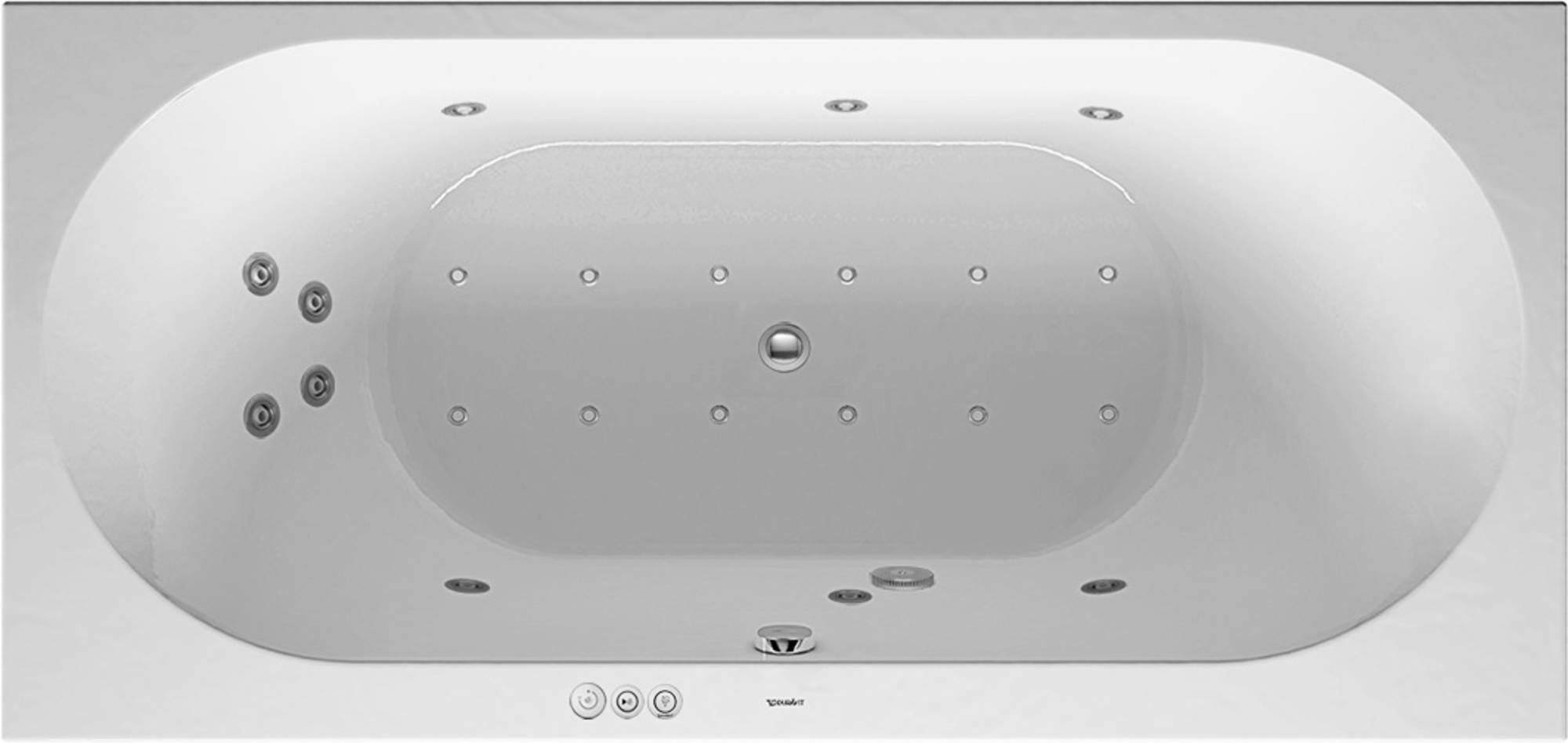 Duravit Darling New Systeembad 170 liter Acryl 190x90 cm Wit