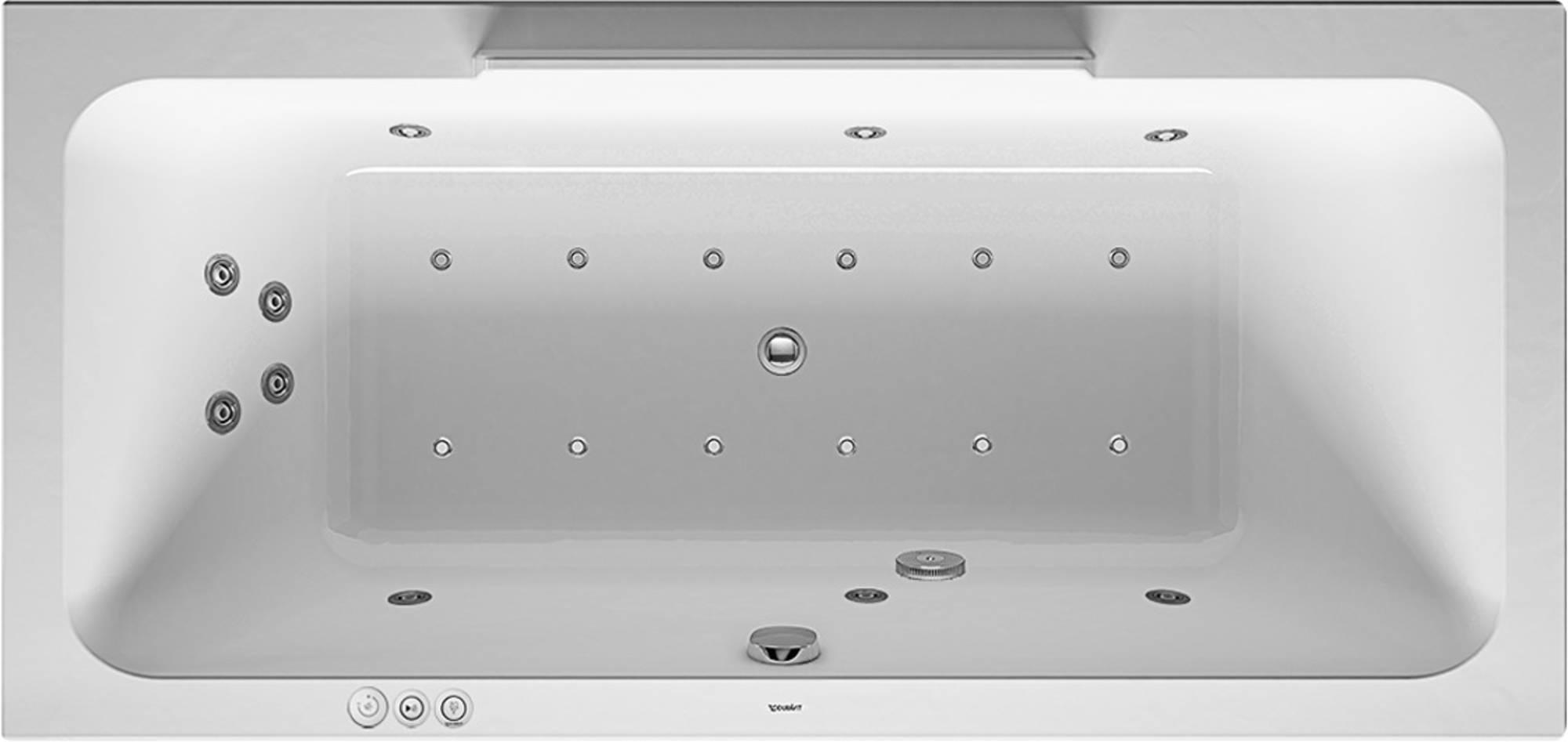 Duravit DuraStyle Systeembad 250 liter Acryl 190x90 cm Wit
