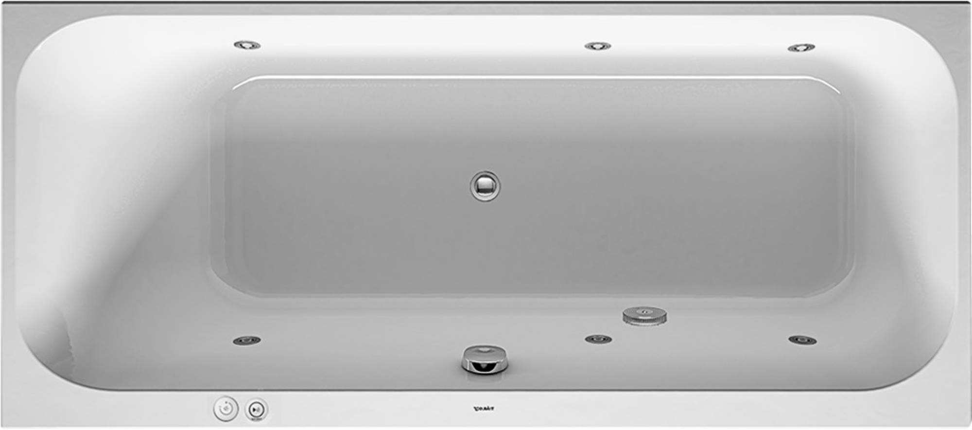 Duravit Happy D2 Systeembad 145 liter Acryl 160x70 cm Wit