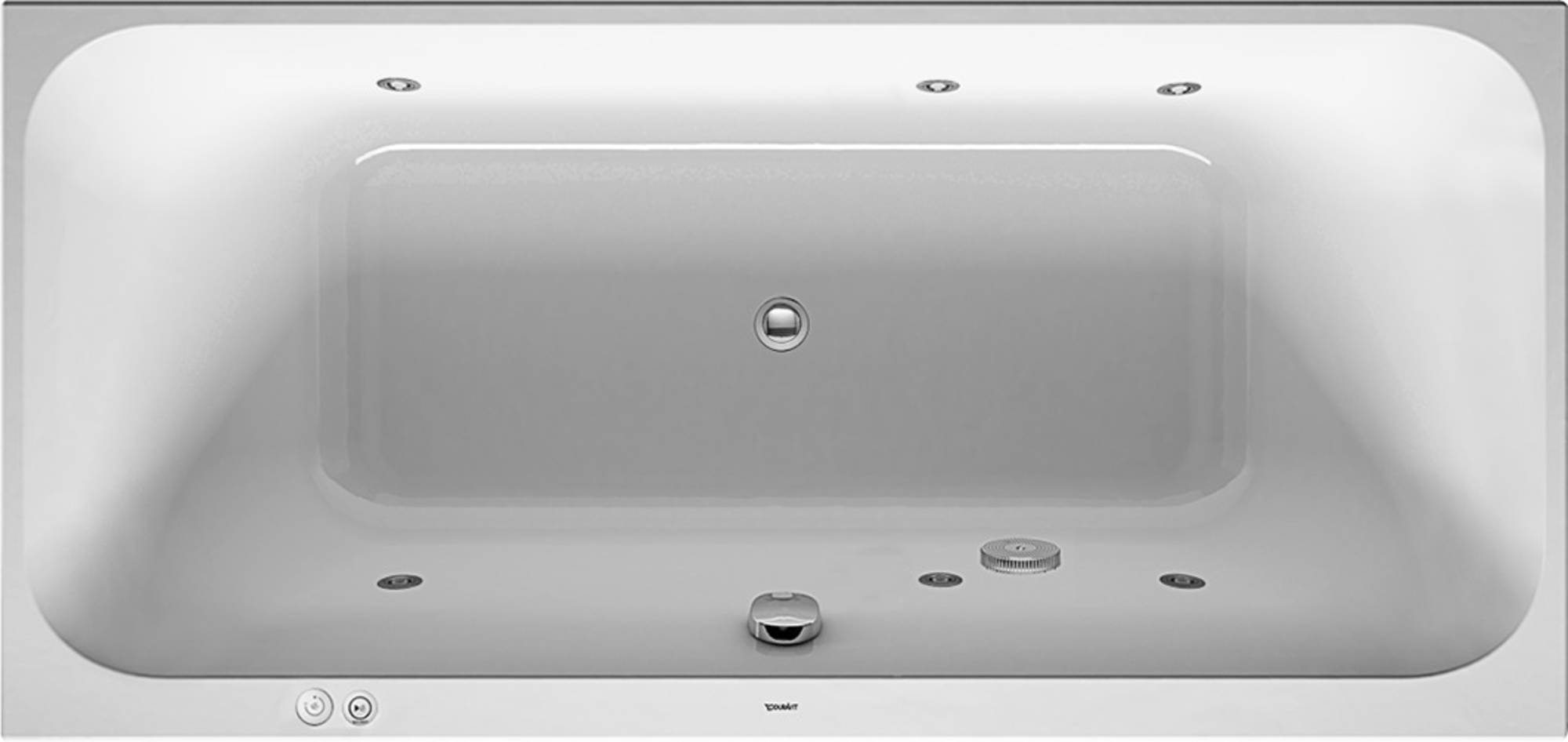 Duravit Happy D2 Systeembad 180 liter Acryl 190x90 cm Wit