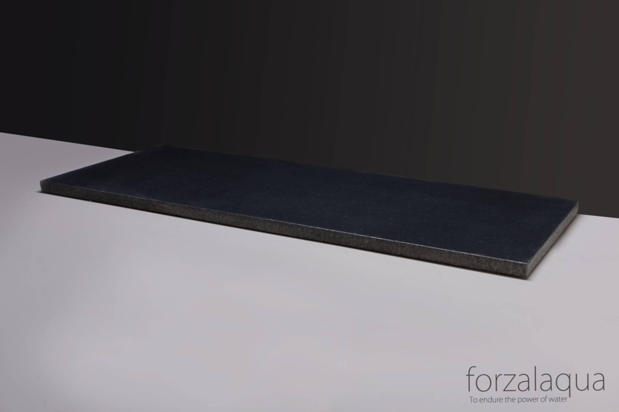 Forzalaqua Plateau 100,5x51,5x3 cm 2xo72mm Graniet Gebrand